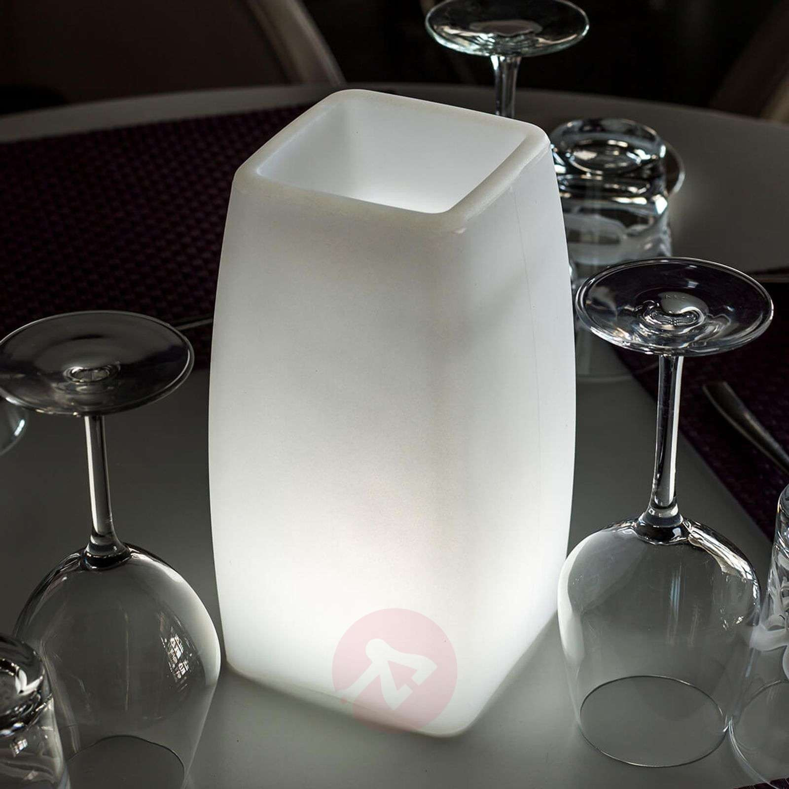 App-controllable LED table lamp Stele with battery-8590033-01