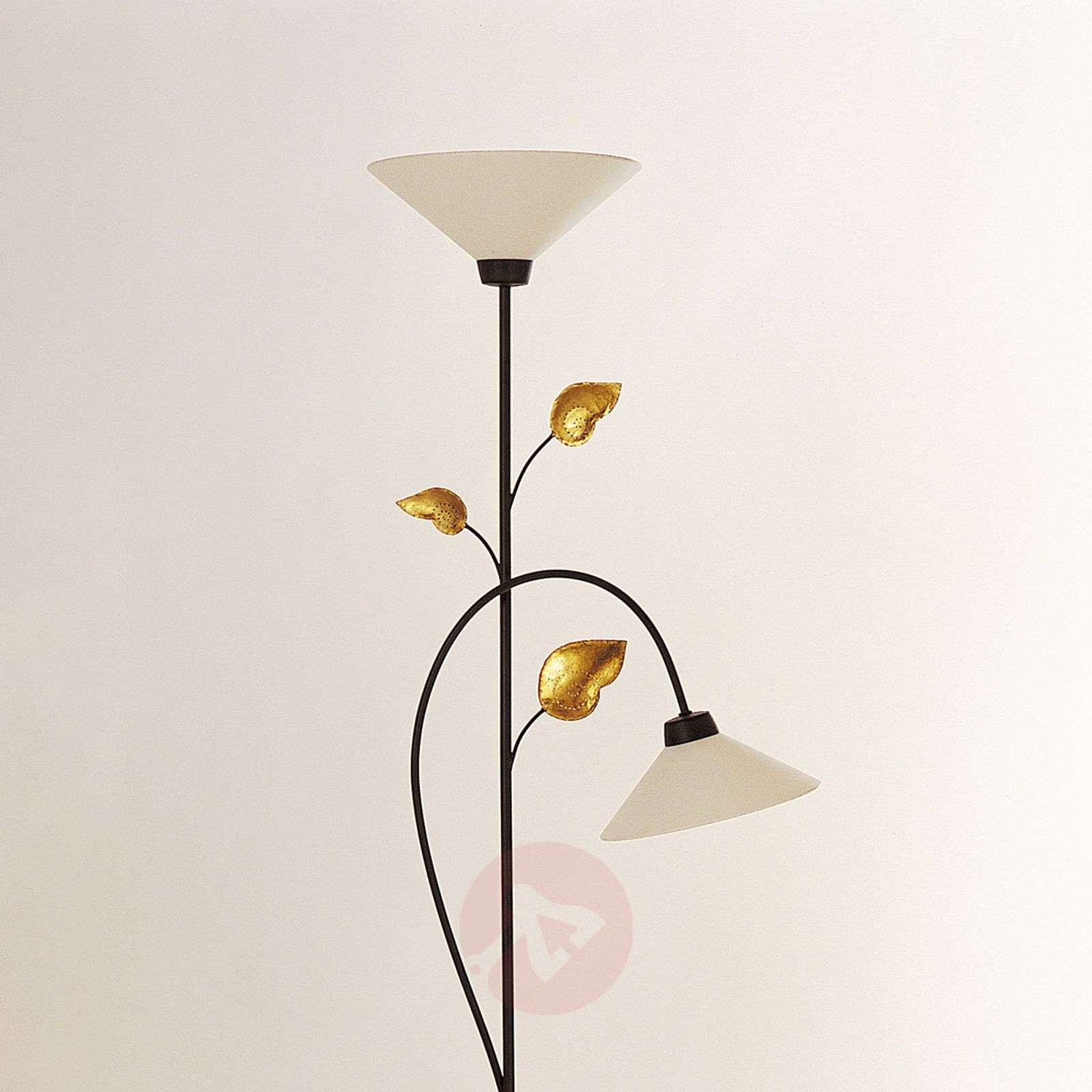 Appealing floor lamp TRE FOGLIE dimmable-4512030-01