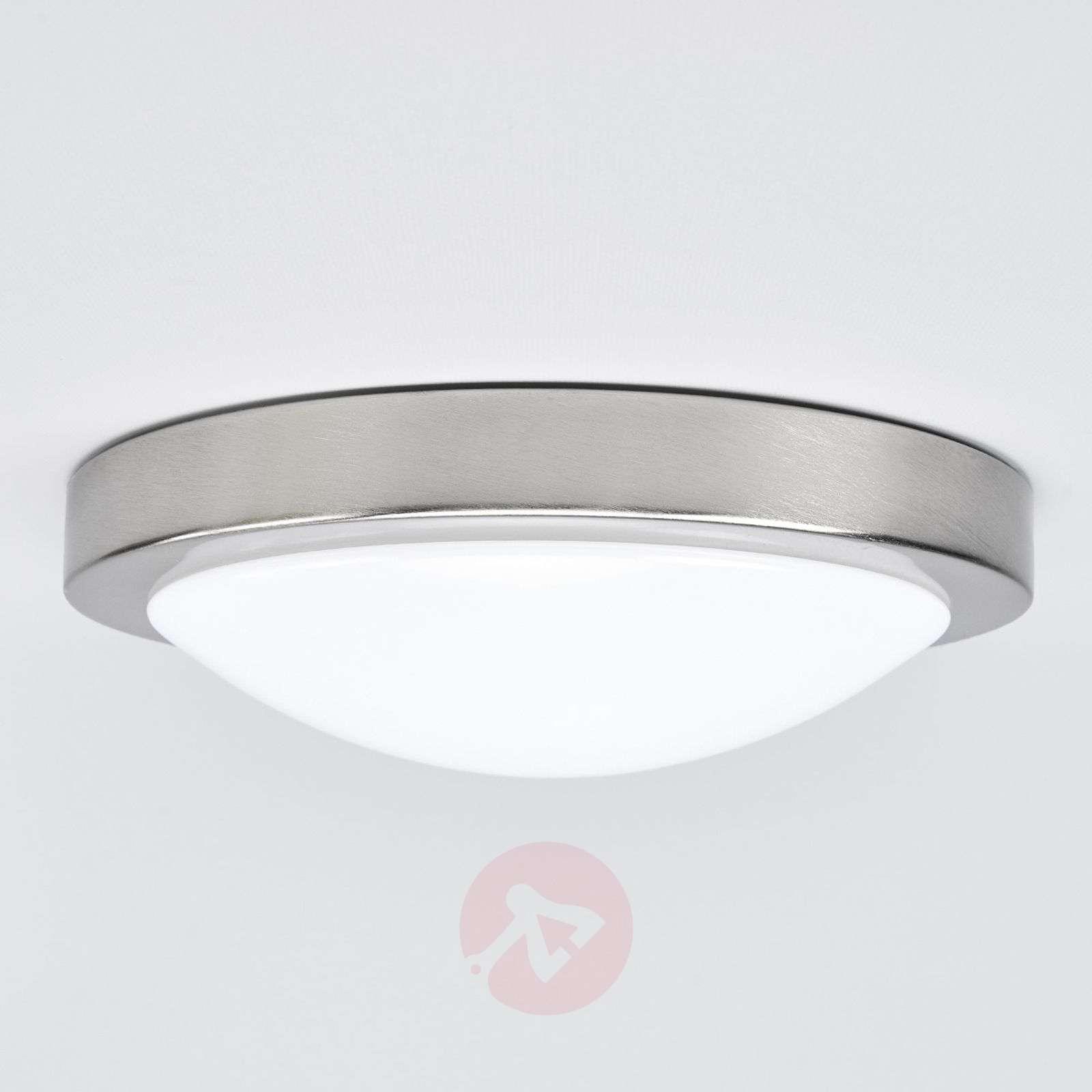 ... Aras LED Bathroom Ceiling Lamp, Matt Nickel 9950539 01 ...