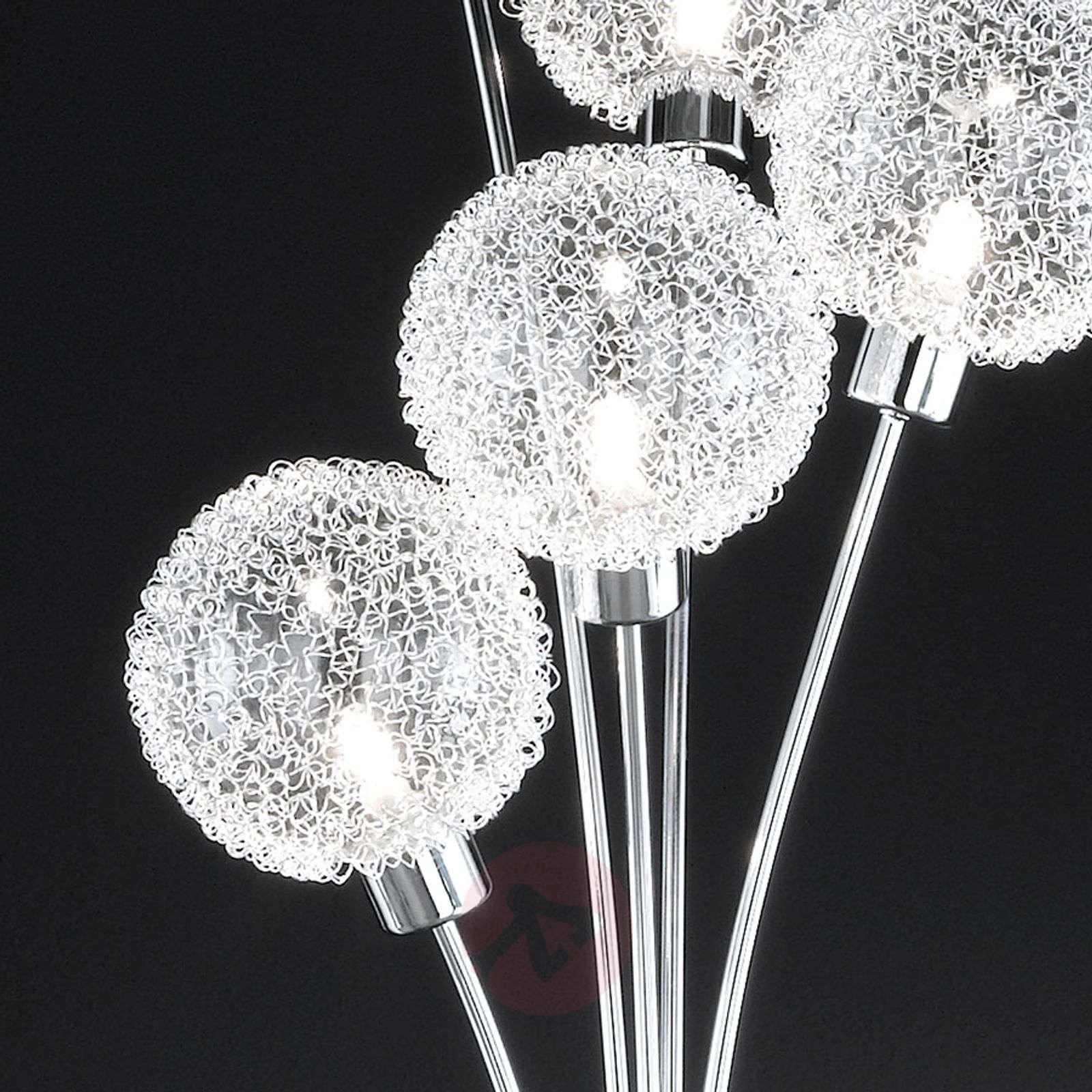Arc floor lamp with multiple bulbs lights arc floor lamp with multiple bulbs 9651379 01 aloadofball Image collections