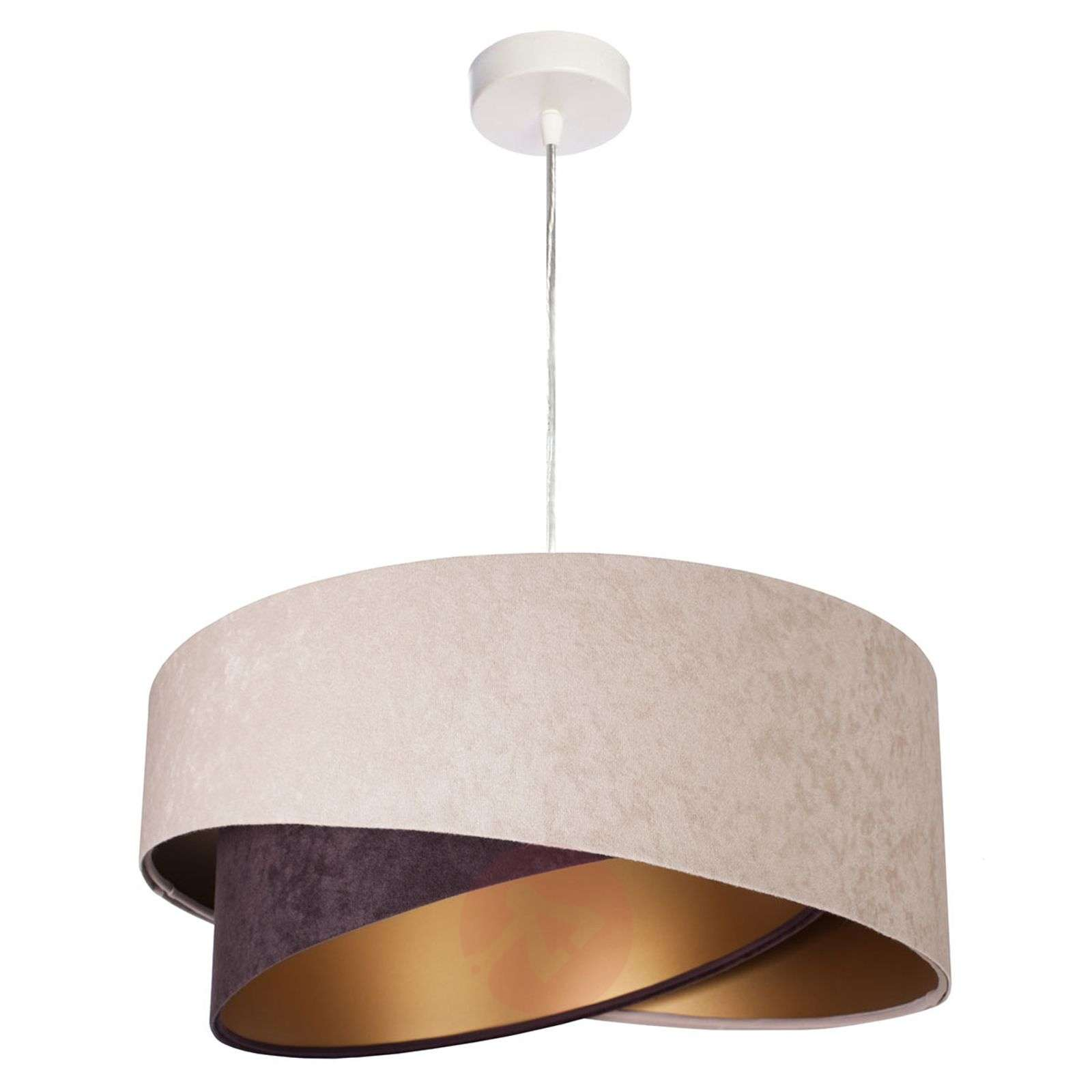 Arianna hanging light, layered look, two-tone-6728025-01