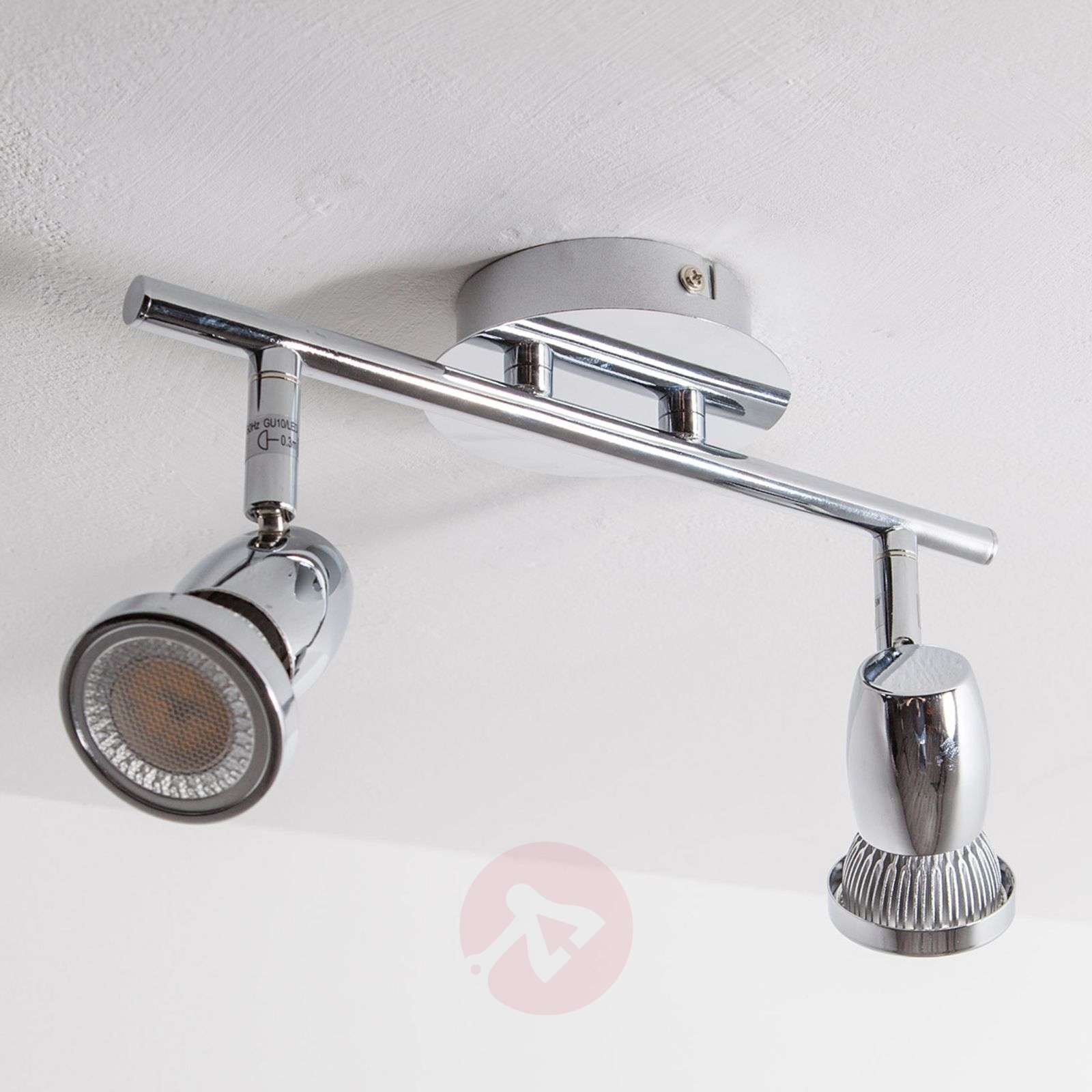 Arminius LED ceiling spotlight, 2-bulb-9950371-01