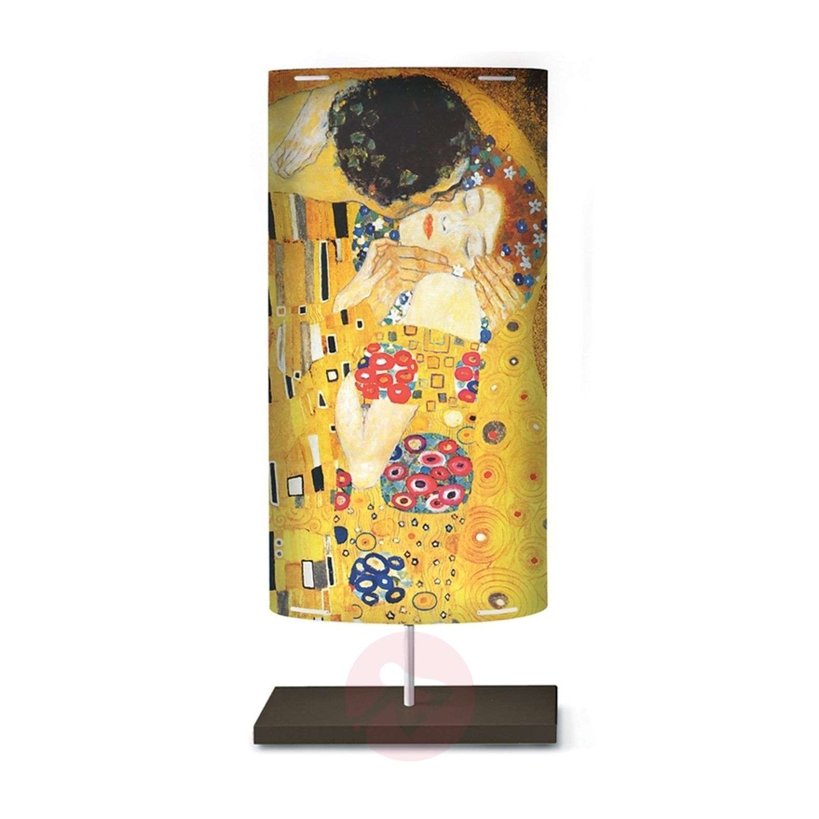Art motif on the floor lamp Klimt III-1056047-01