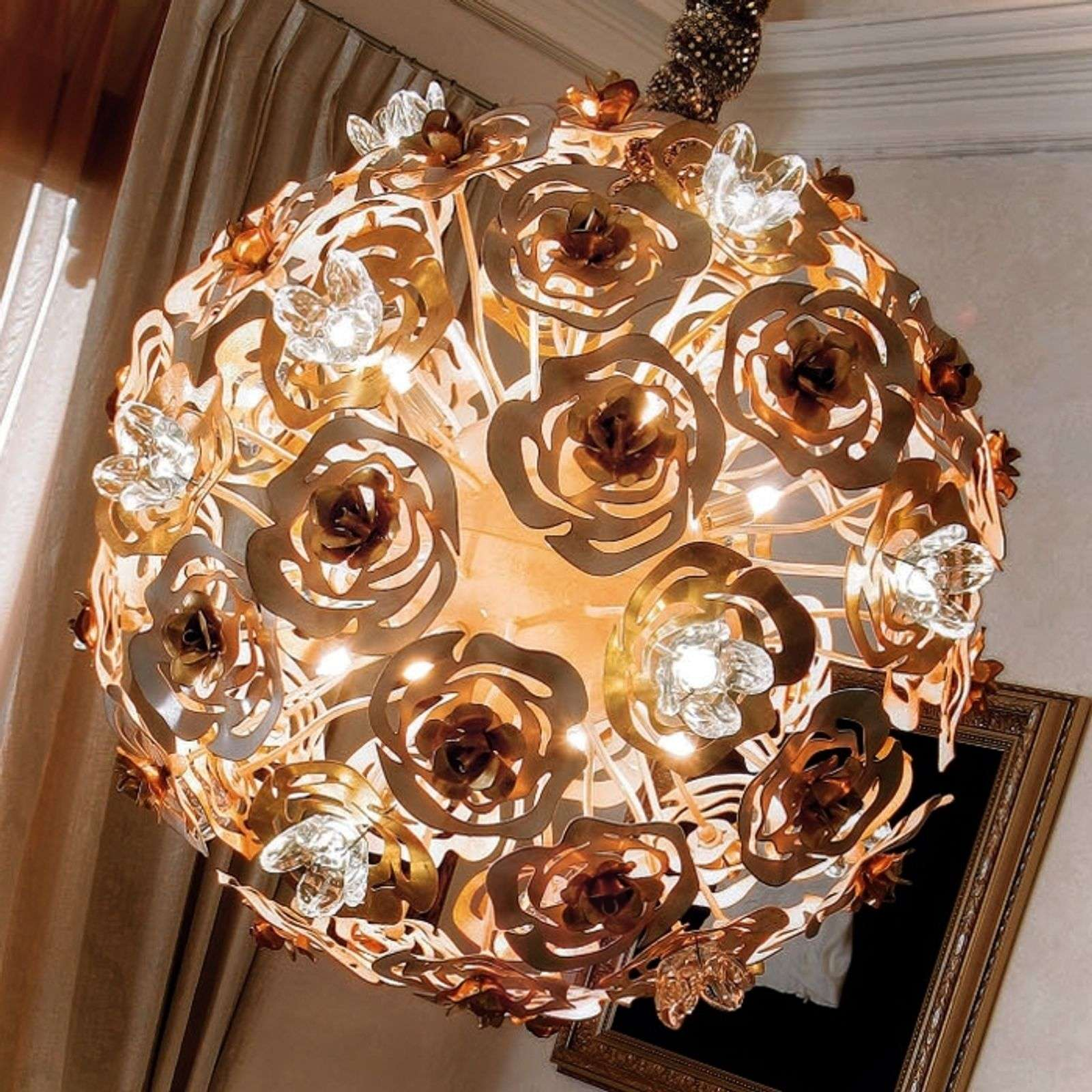 Sierstrip Chroom Badkamer : Artistic led hanging light vie en rose lights.ie