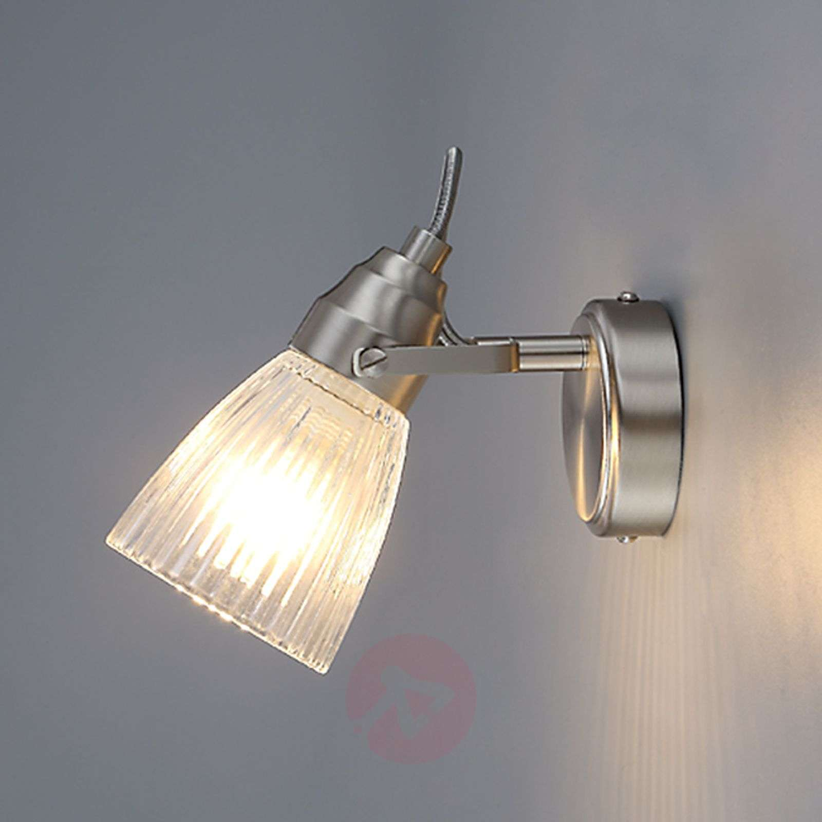 Attractive bathroom wall light Kara with LED, IP44-9620681-01