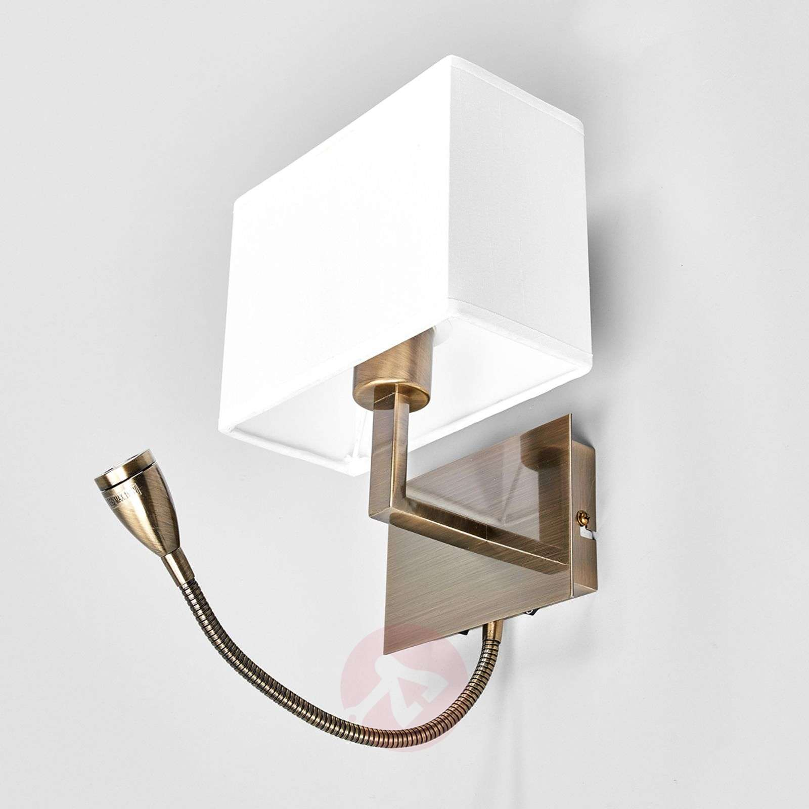 Attractive DARIO wall light with LED reading lamp-8570451-013