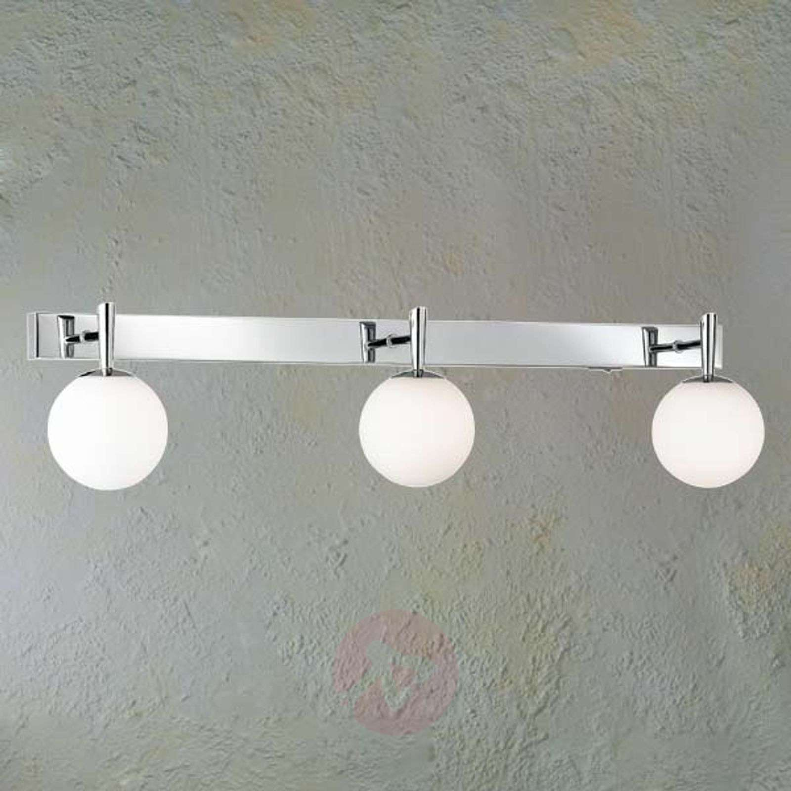 Attractive wall light H2O for the bathroom, 3-bulb-9003759-01