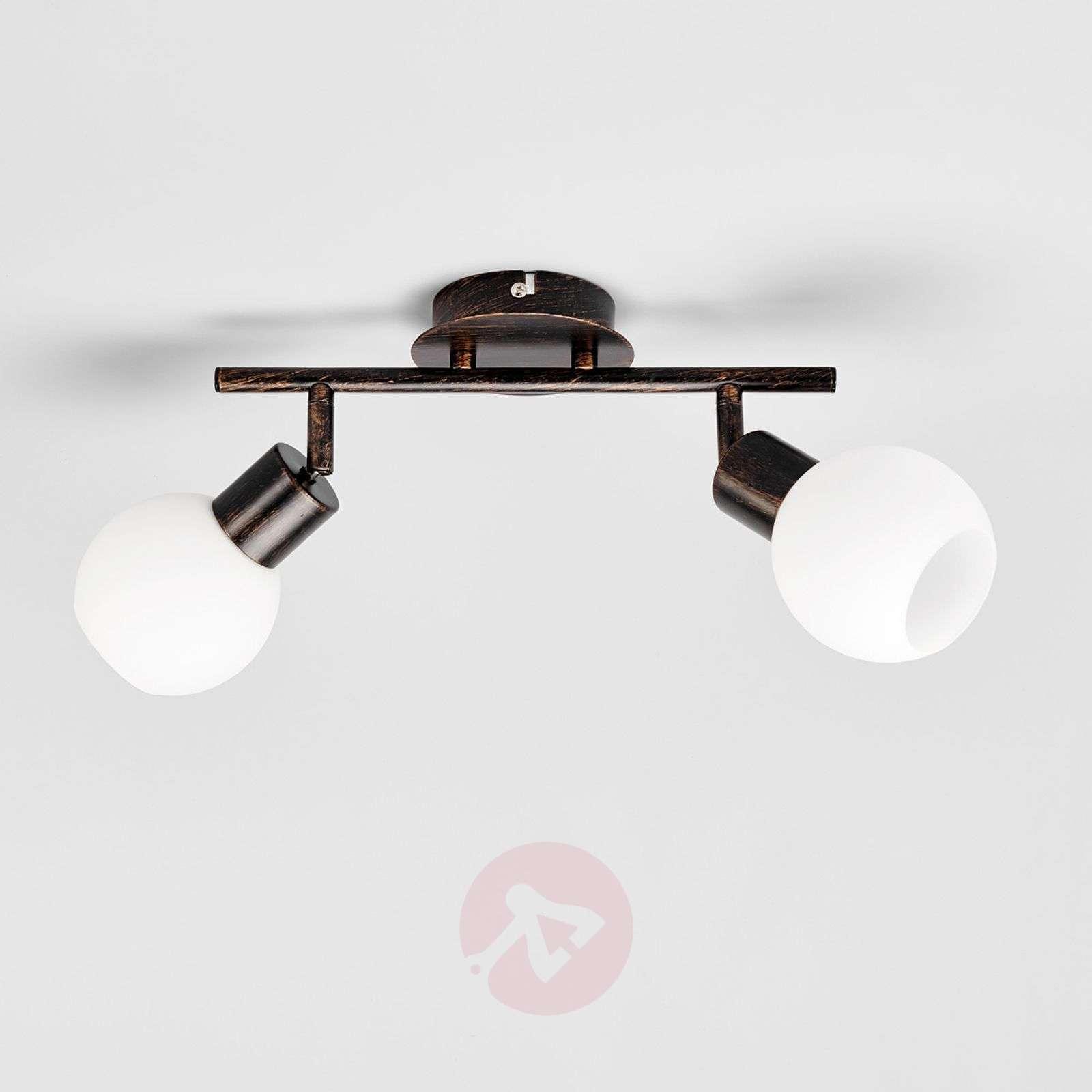Auburn ceiling light Elaina, E14 LED light bulbs | Lights.ie