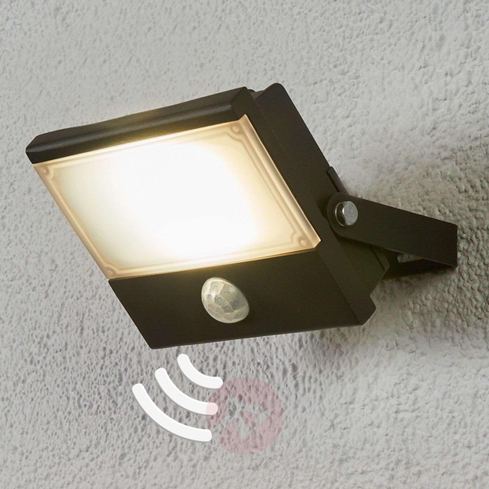 Auron functional LED outdoor spotlight, sensor-4018059-03