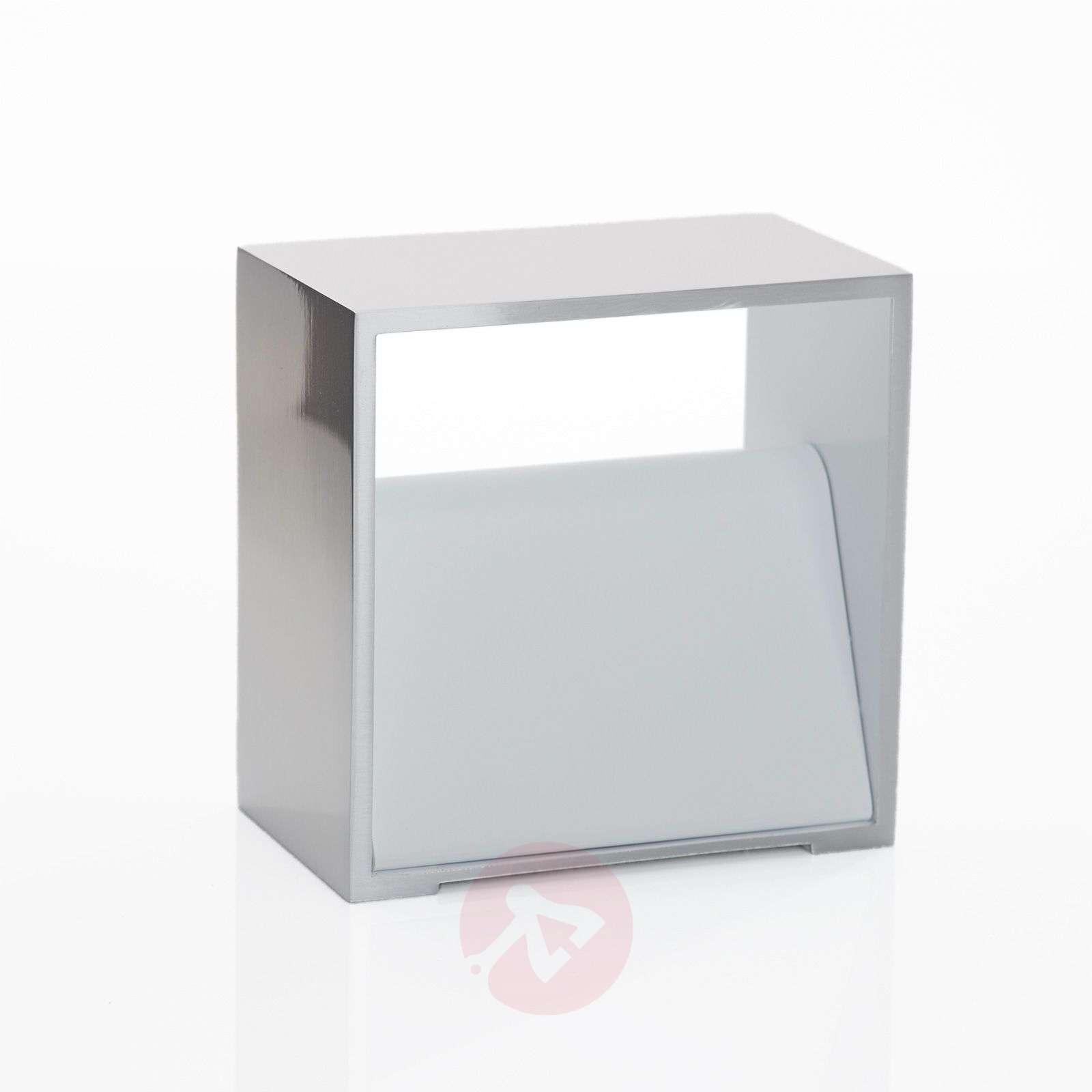 B-Leuchten Cube wall light chrome-1554045-01