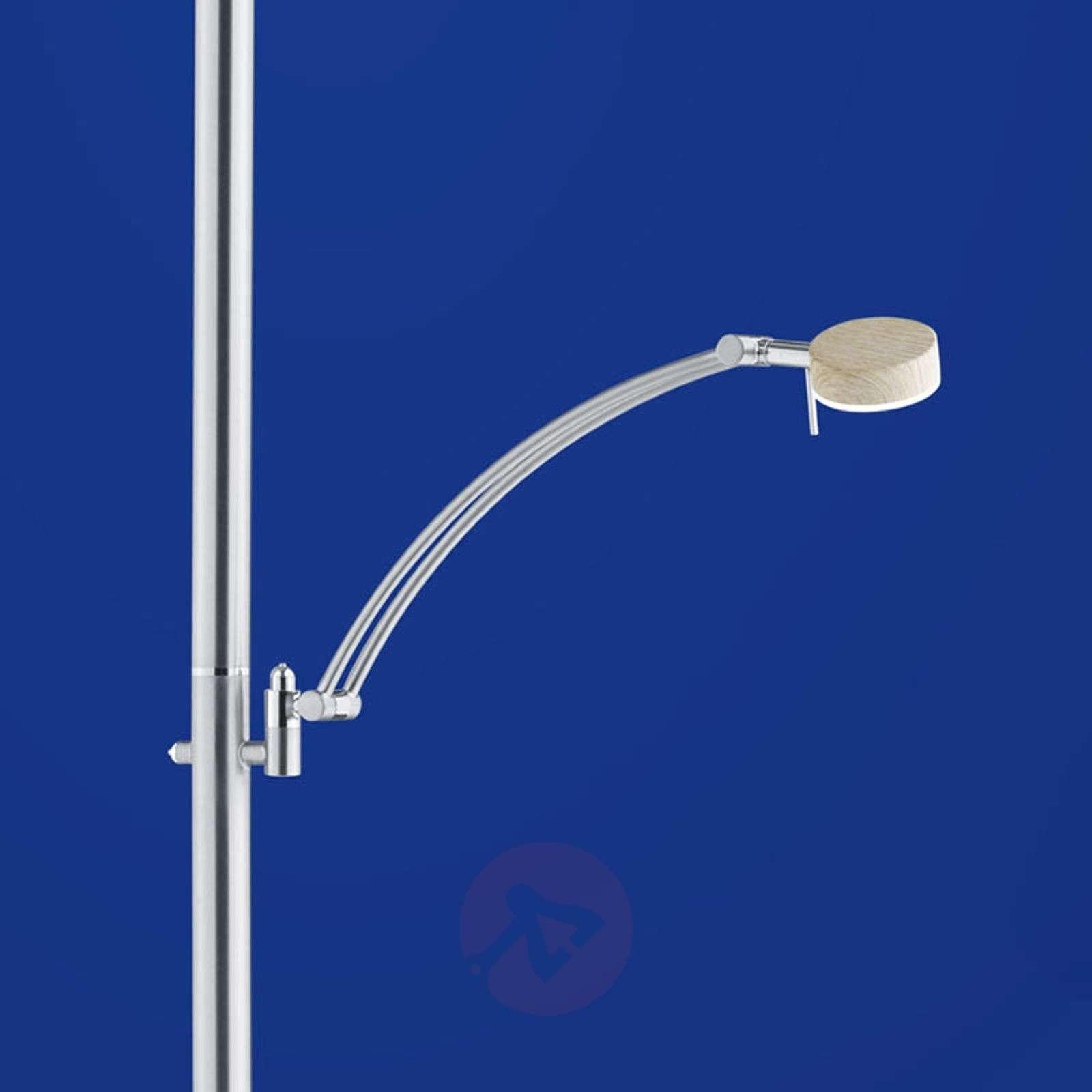 B-Leuchten Monza LED uplighter, light wood-1554005-01