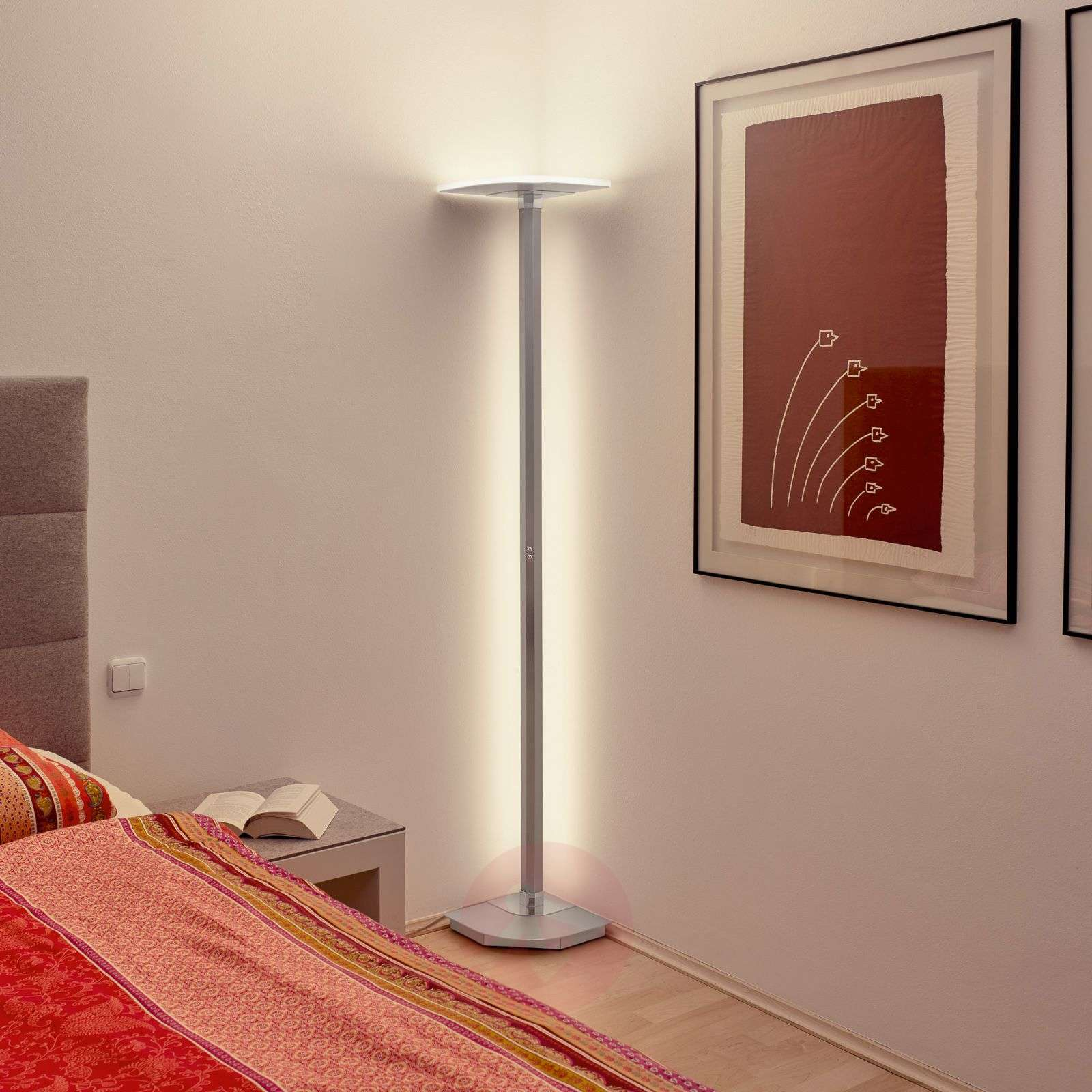 BANKAMP Enzo LED floor lamp, ZigBee-compatible-1572001-01