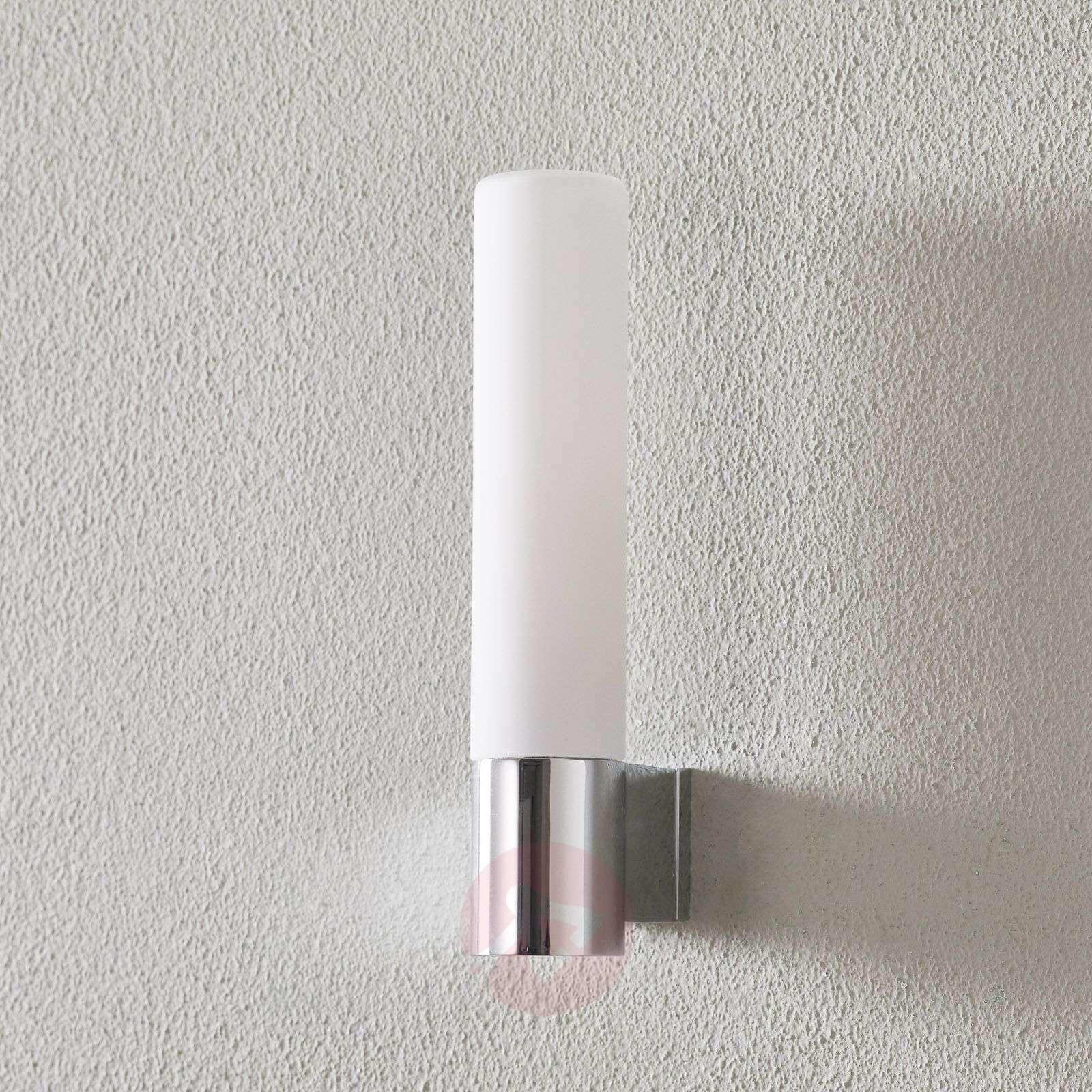 Bari Bathroom Wall Light with White Glass-1020012-03