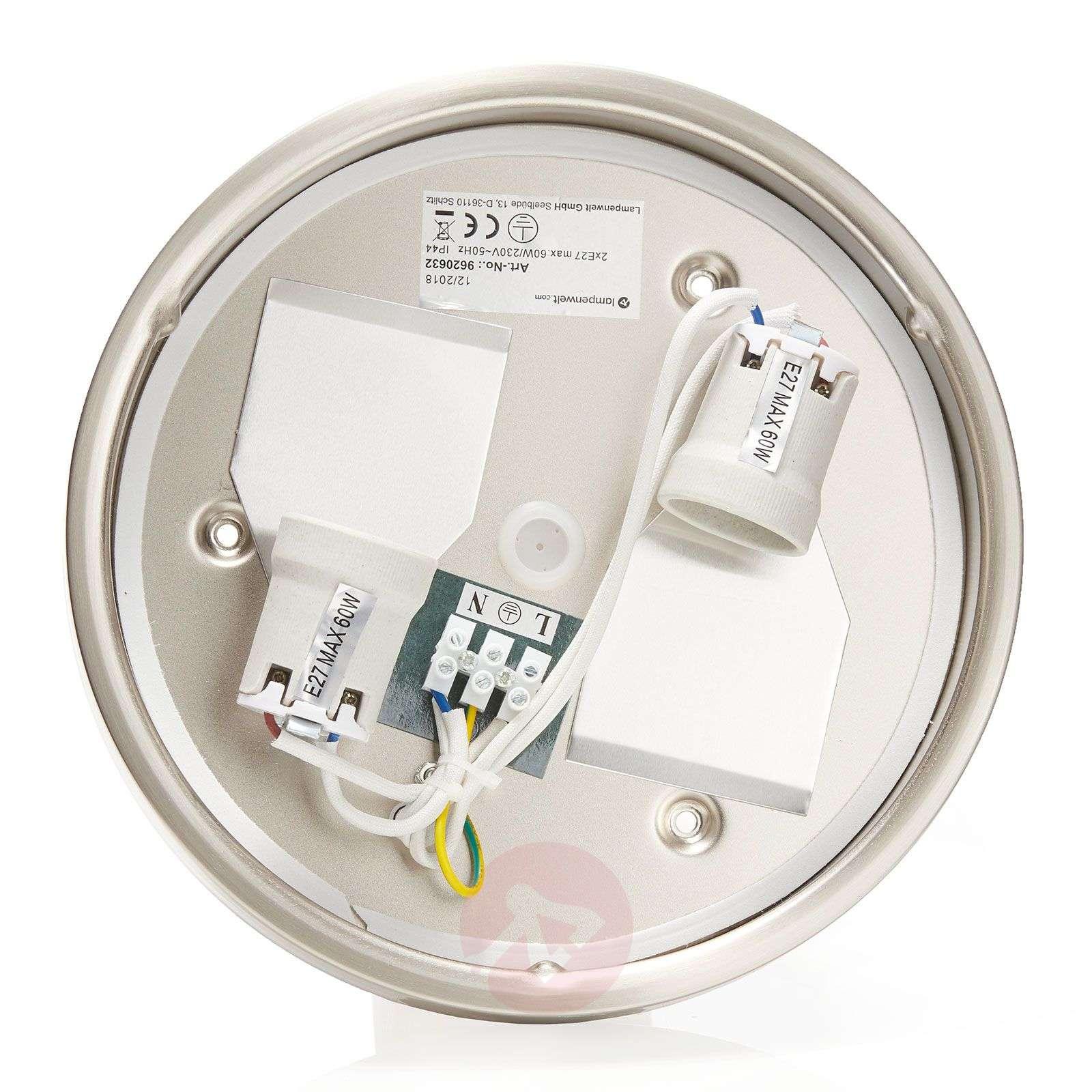 Bathroom ceiling light Flavi, matt nickel-9620632-03