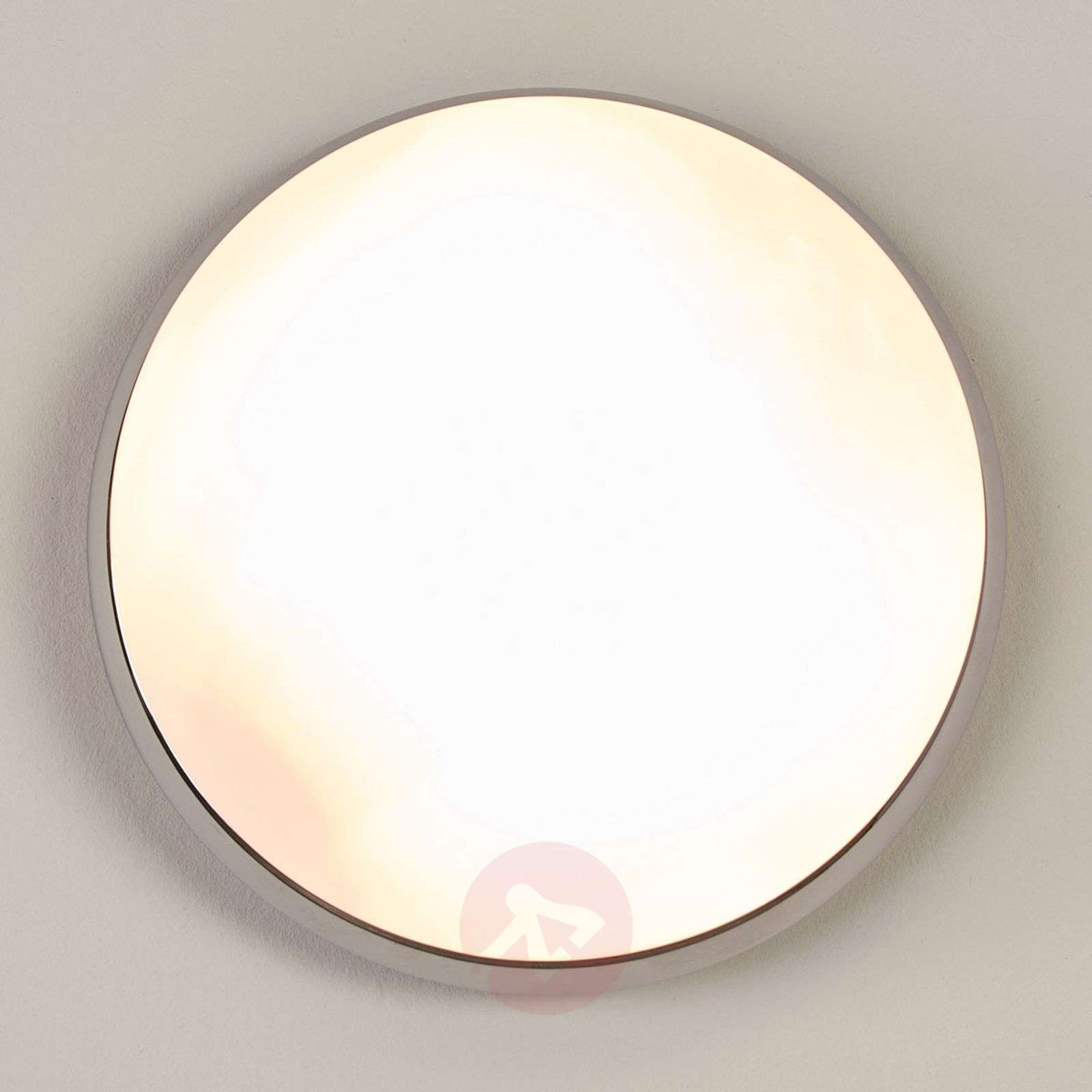Bathroom ceiling light Mijo with chrome rim, IP44-9641092-05