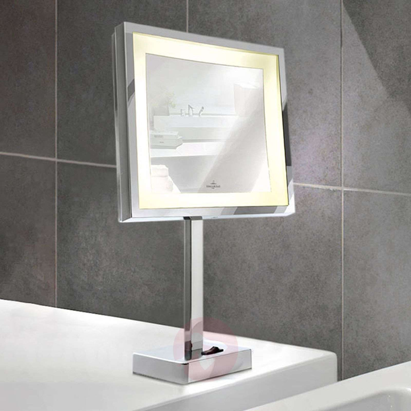 Battery-powered LED cosmetics mirror London-8507620-01