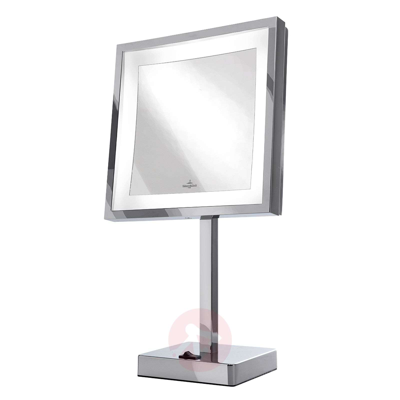 Battery Powered Led Cosmetics Mirror London Lights Ie