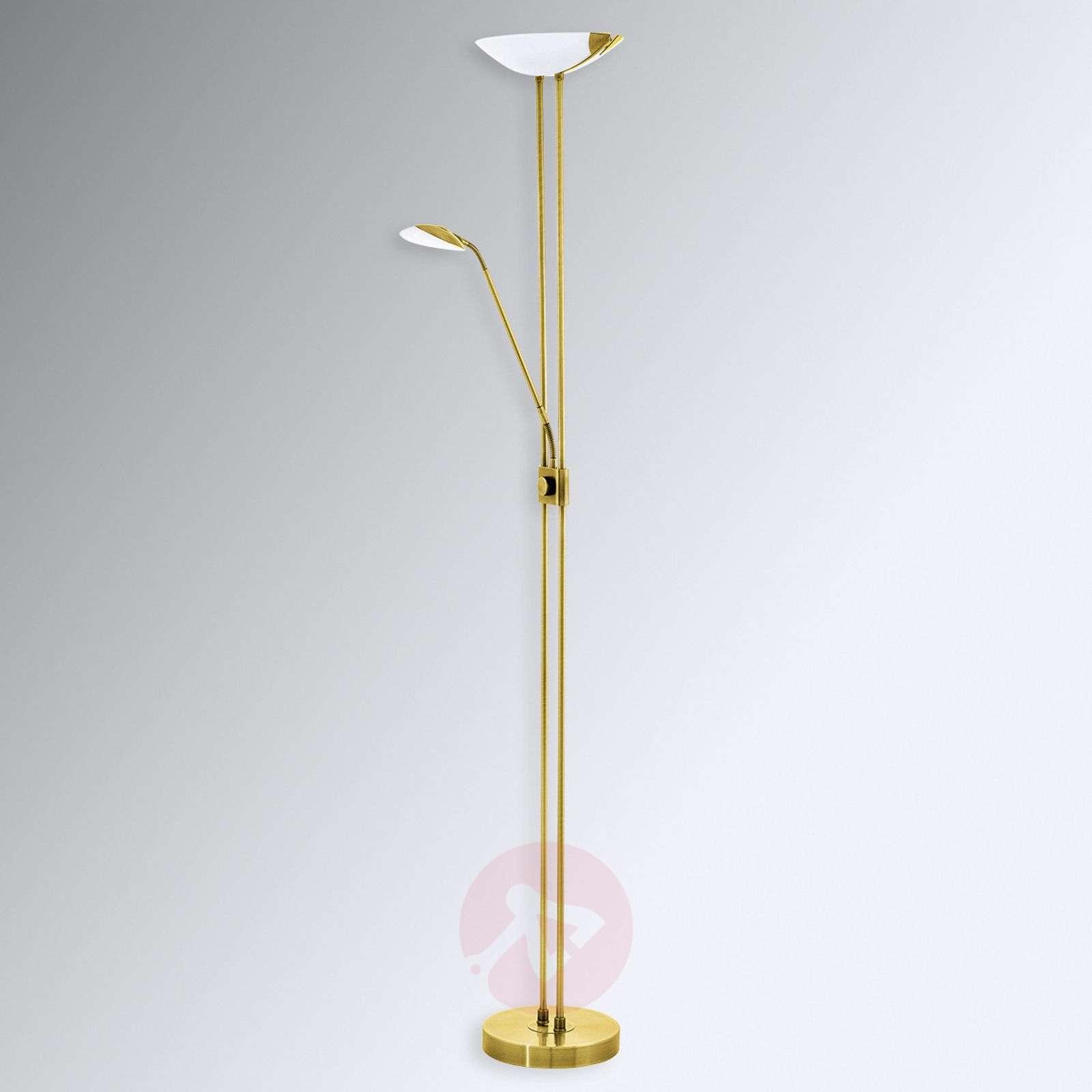 Staande lamp uplight led staande lamp modern industrie look