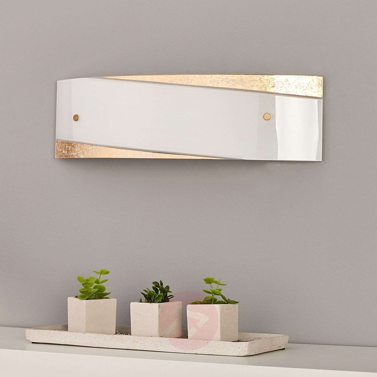 Beatrice wall lamp with gold-coloured decor-9625058-01