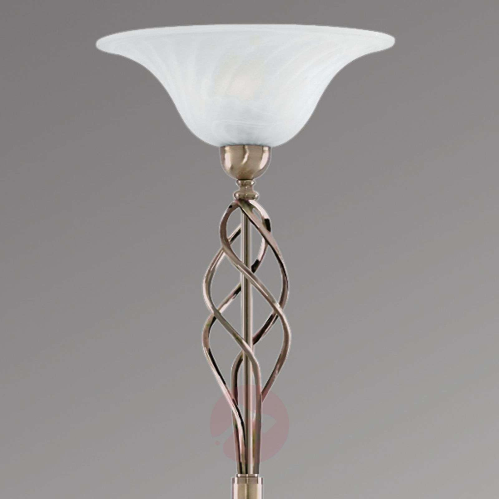 Beautiful Fionna ceiling uplighter, antique brass-8570252-01