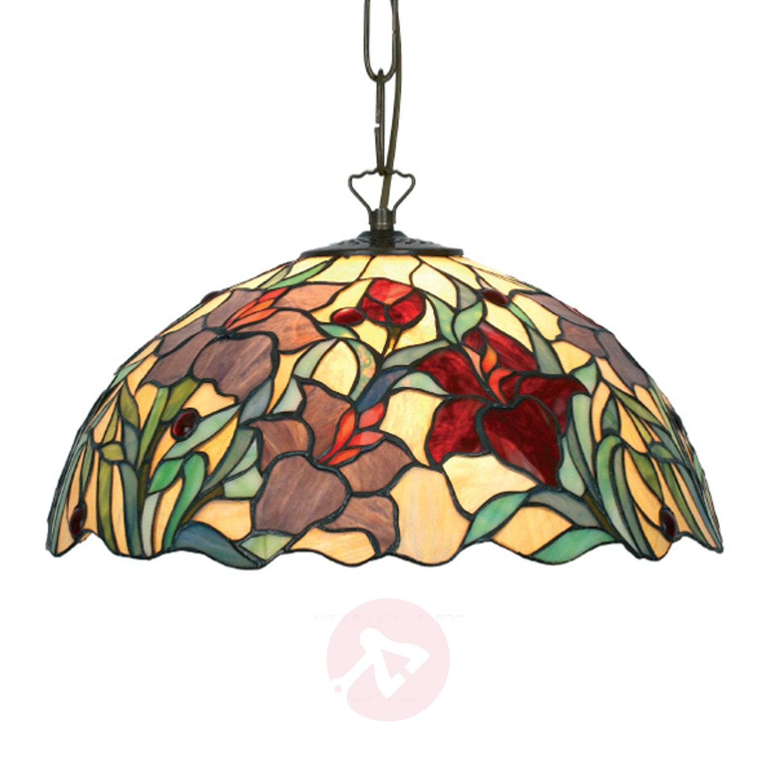 Beautiful hanging light Athina, Tiffany-style-1032137-01