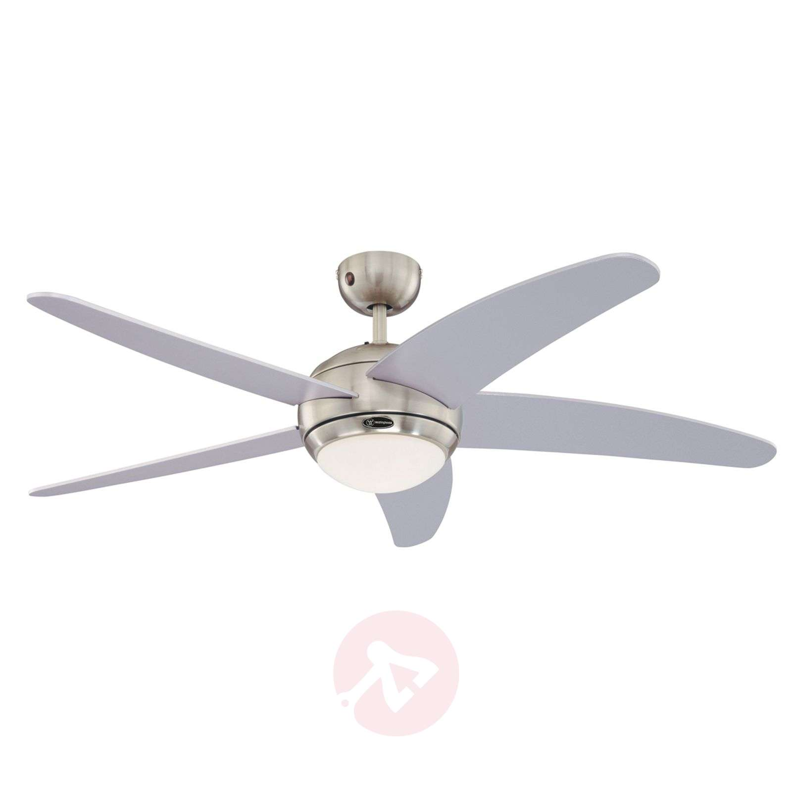 Bedan ceiling fan in silver with light-9602244-09