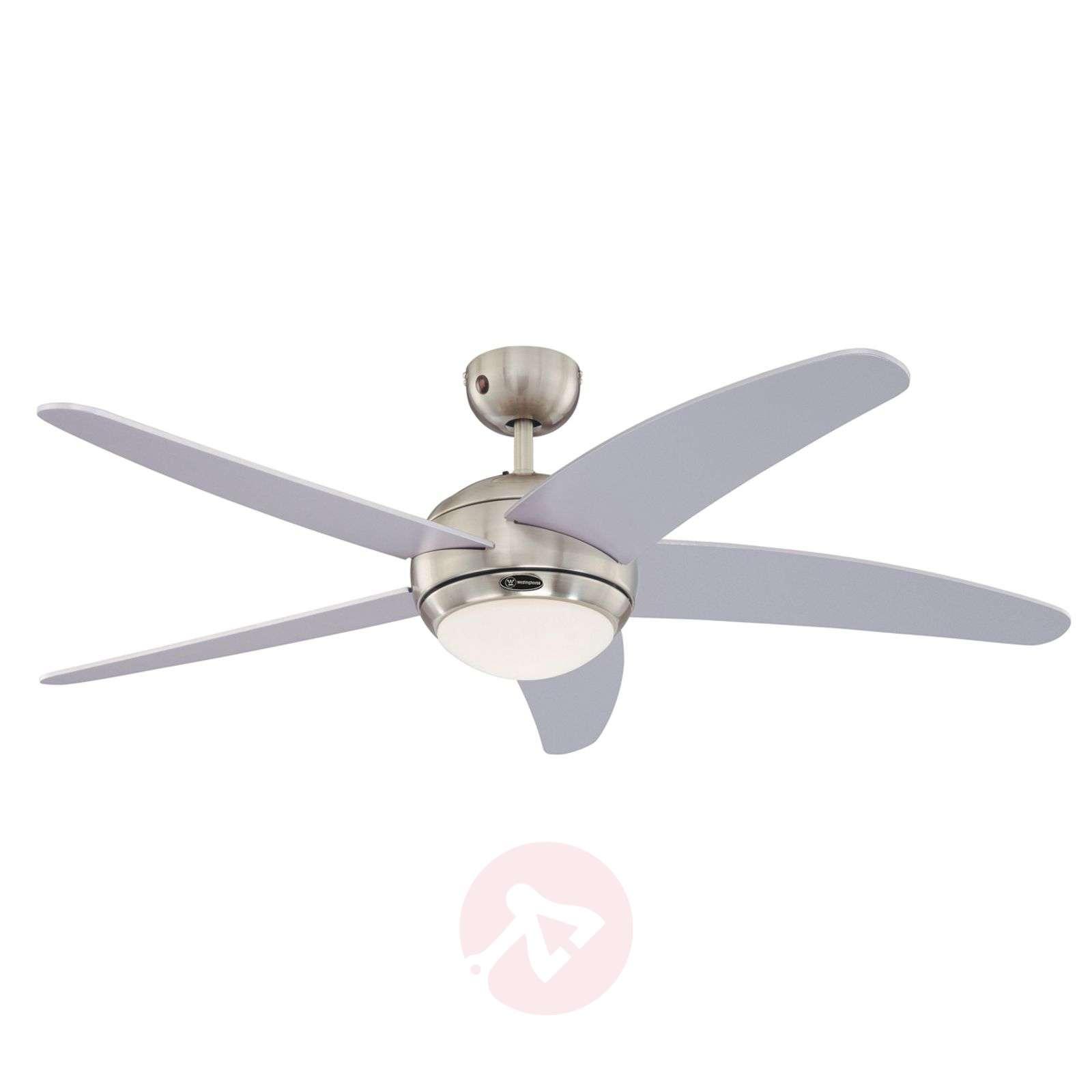 Bedan ceiling fan in silver with light-9602244-09