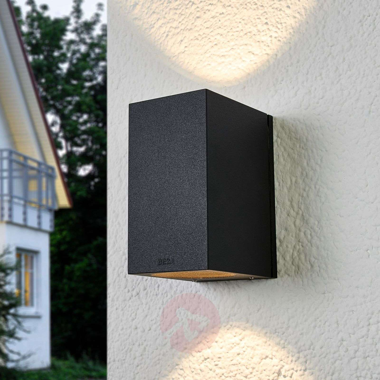 Bega Fred LED outdoor wall lamp two light outlets-1566023-01