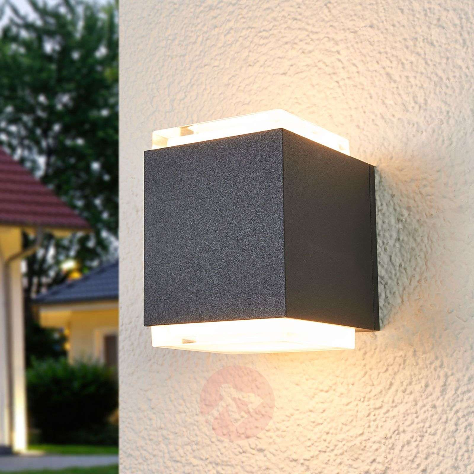 Bega LED outdoor wall lamp Ben-1566019-01