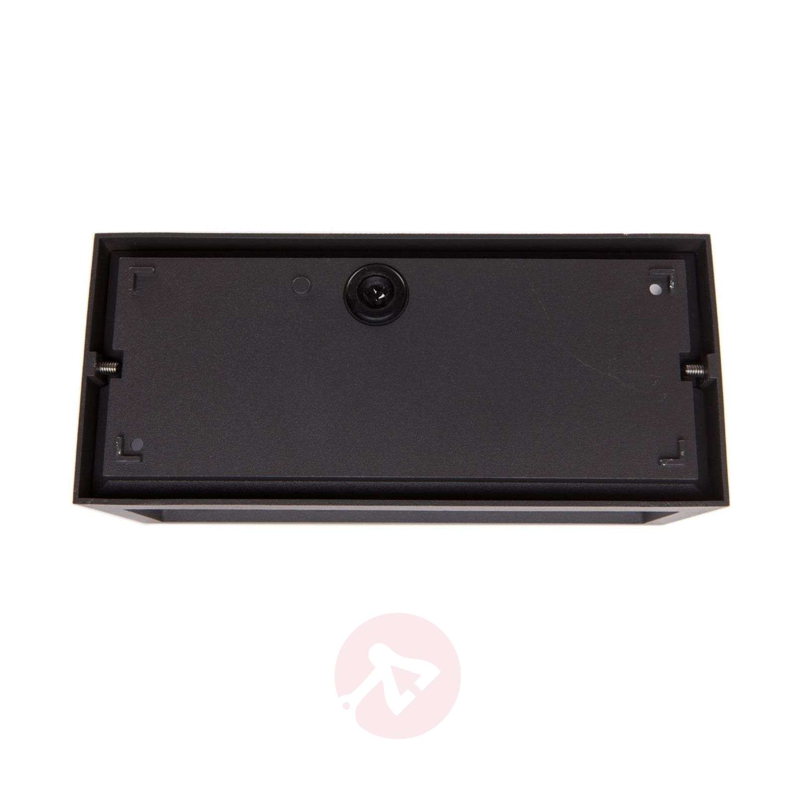 Bente rectangular outdoor wall light, graphite-9616022-01