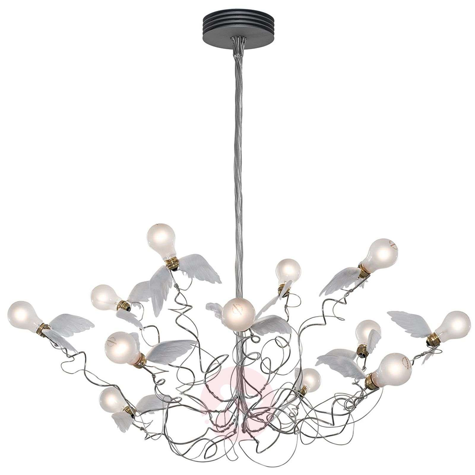 Birdie hanging light with winged bulbs-5026104X-01