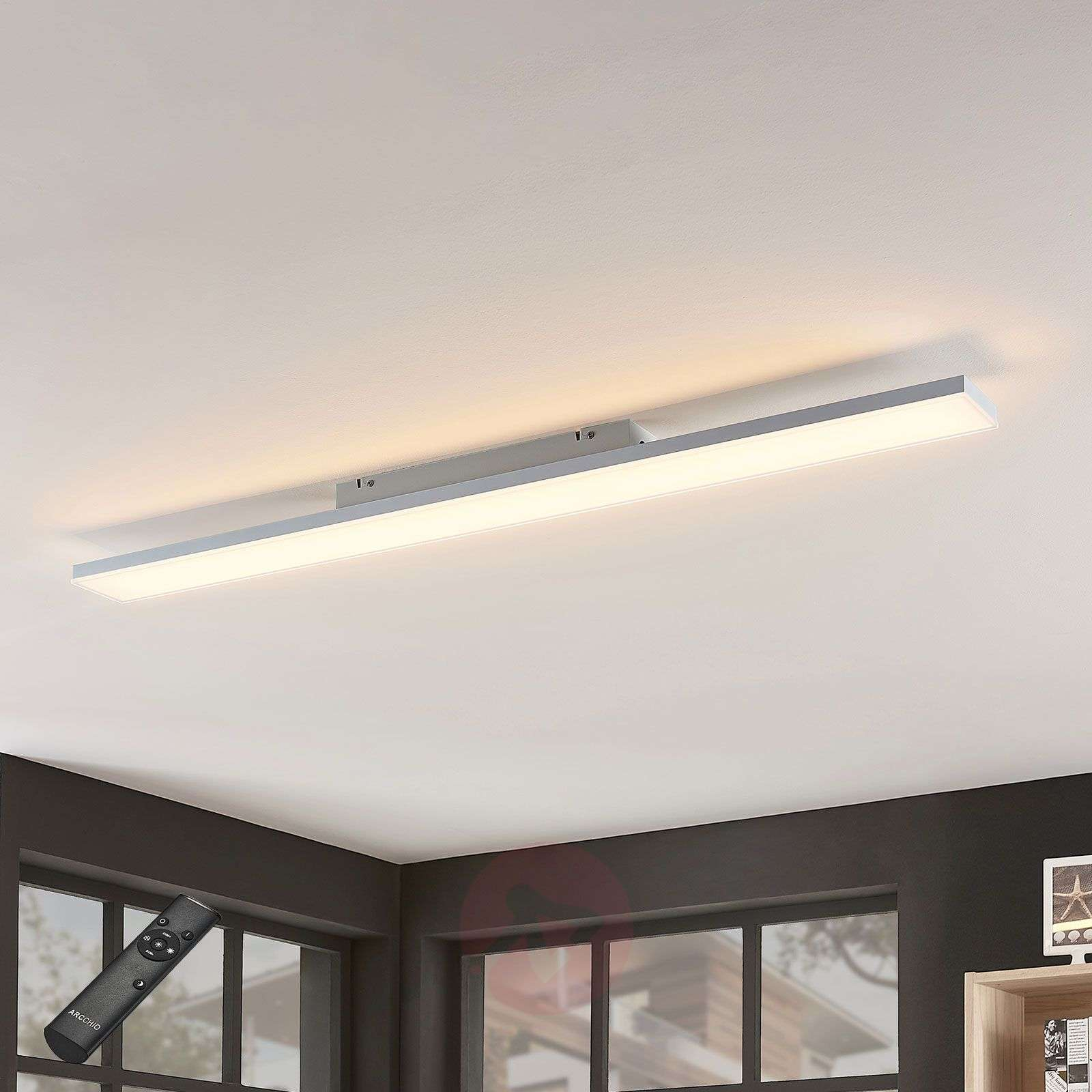 Blaan CCT LED panel with remote, 119.5 x 10cm-9624329-01