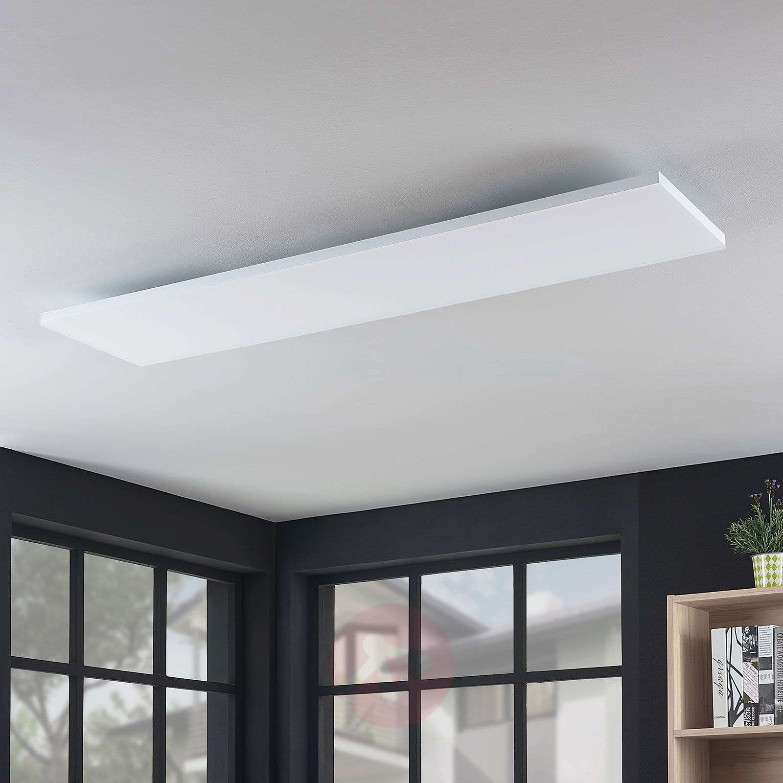 Blaan CCT LED panel with remote, 119.5 x 29.5 cm-9624331-01