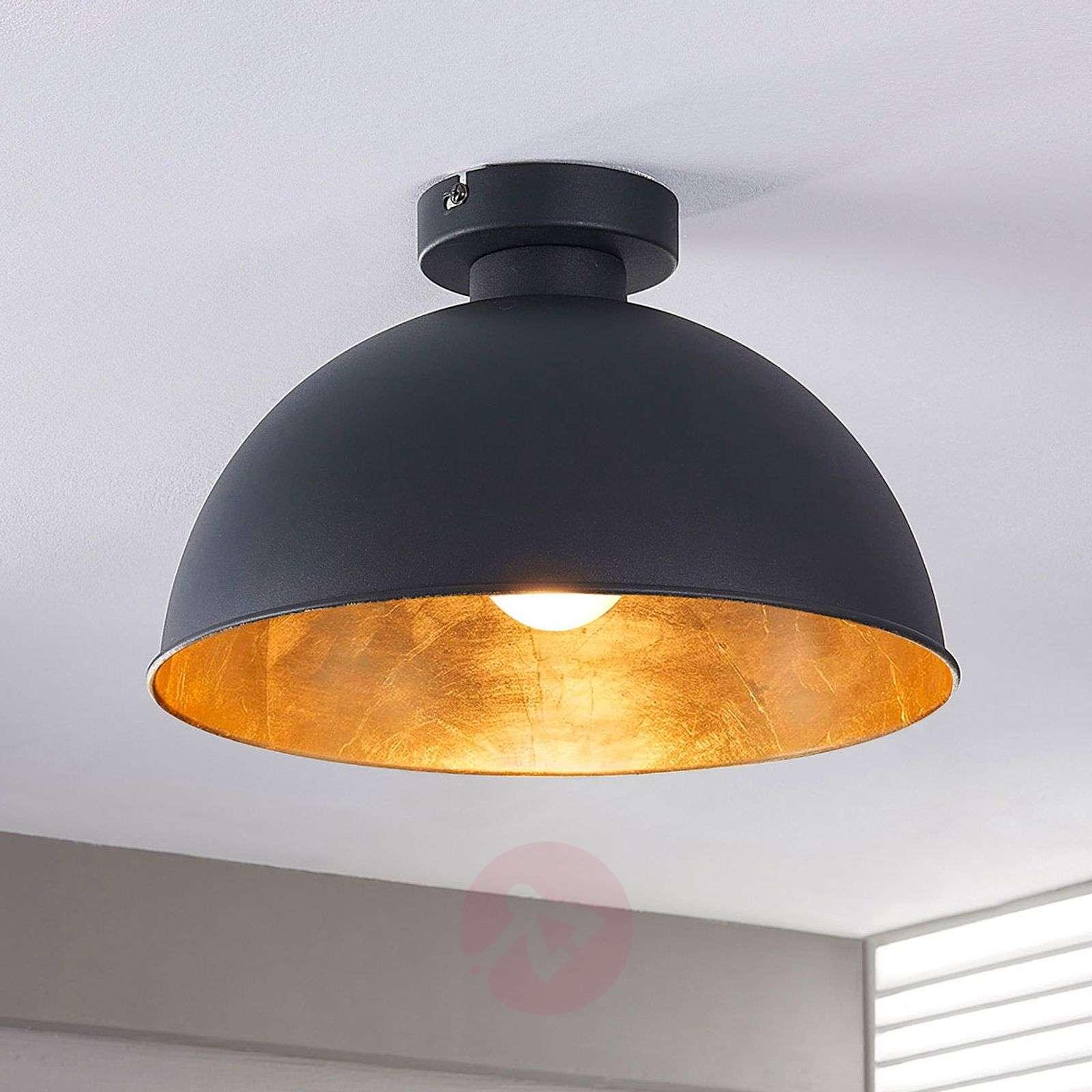 Black and gold ceiling light Lya-9620829-02