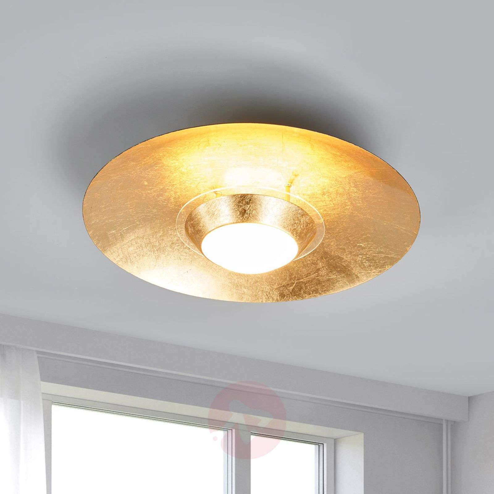 Black and gold LED ceiling light Yasien-9625137-03