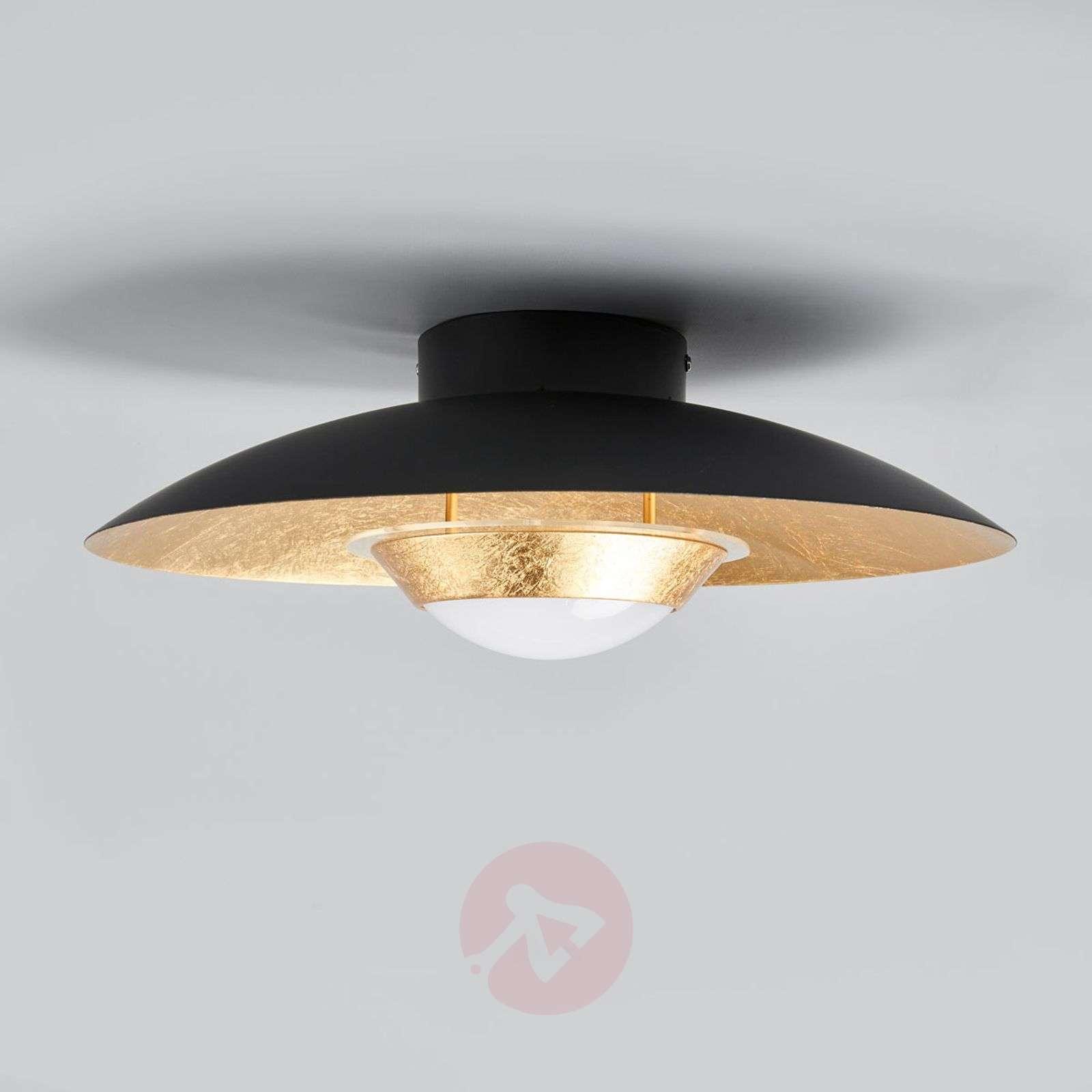 Black and gold LED ceiling light Yasien-9625137-03