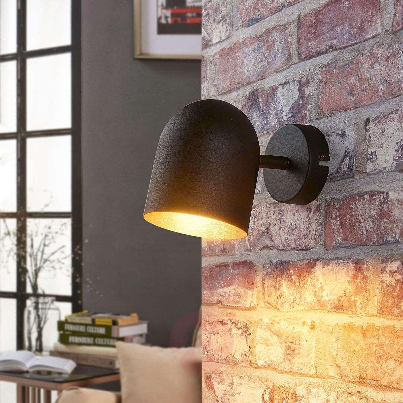 Black and gold LED spotlight Morik, Easydim-9621238-02