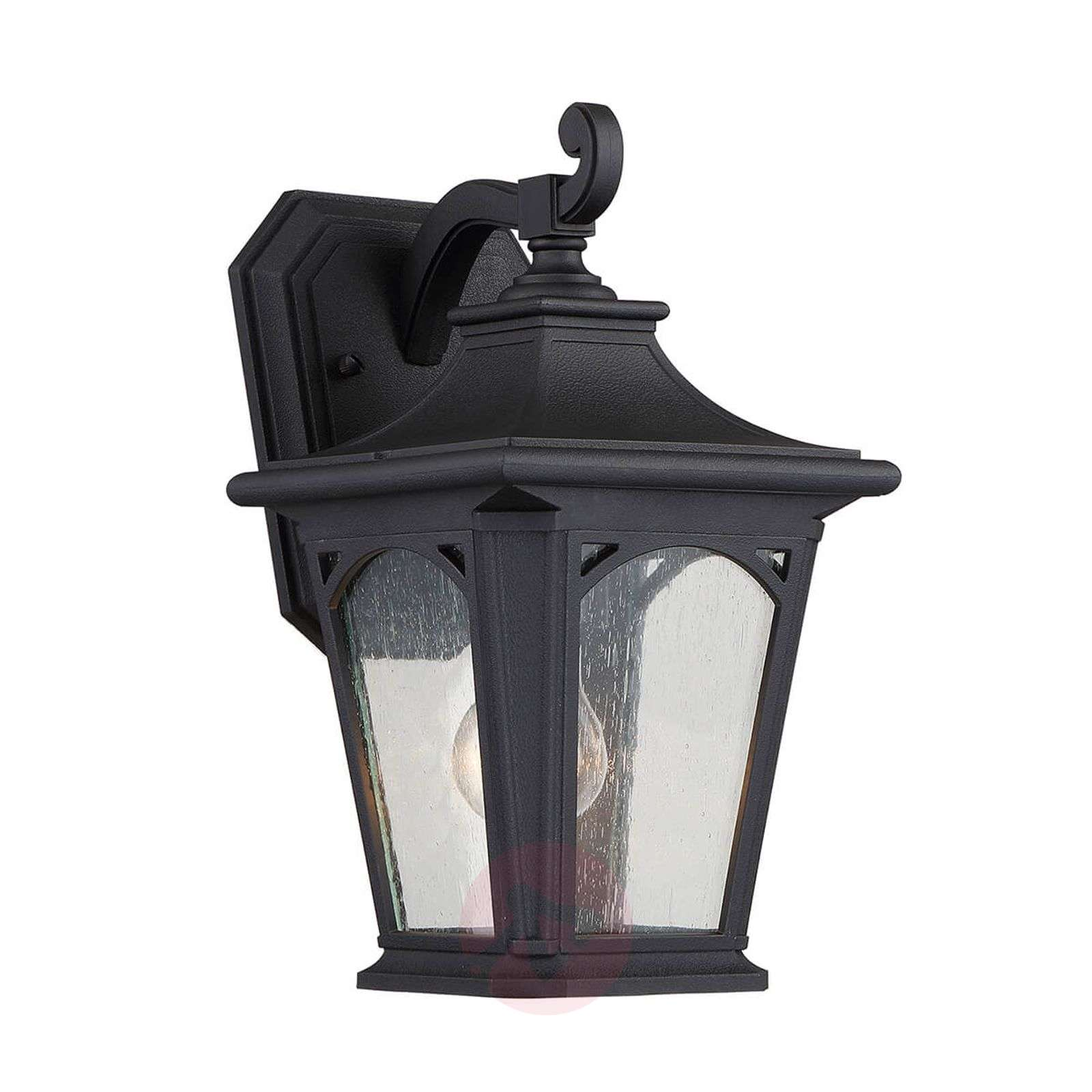 Black Bedford small outdoor wall lamp-3048830-01
