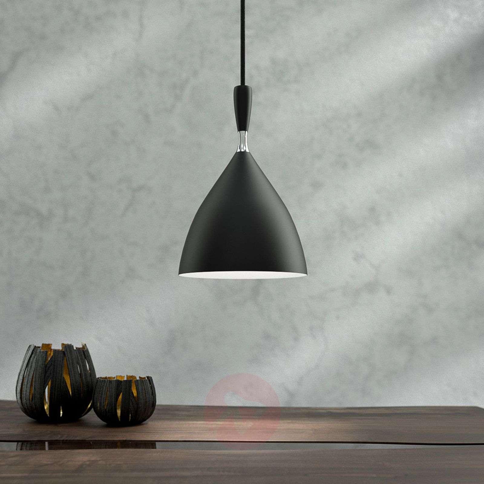 Black designer pendant light Dokka-7013090-01