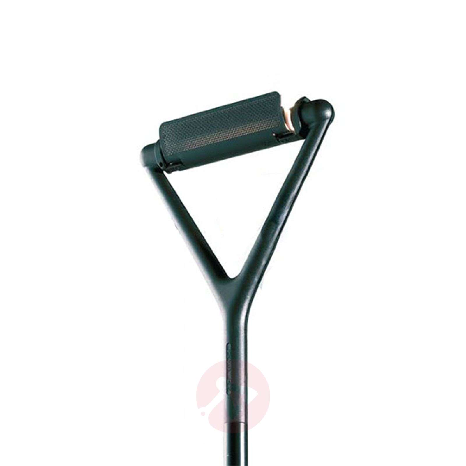 Black floor lamp Lola with dimmer switch-6030106-01