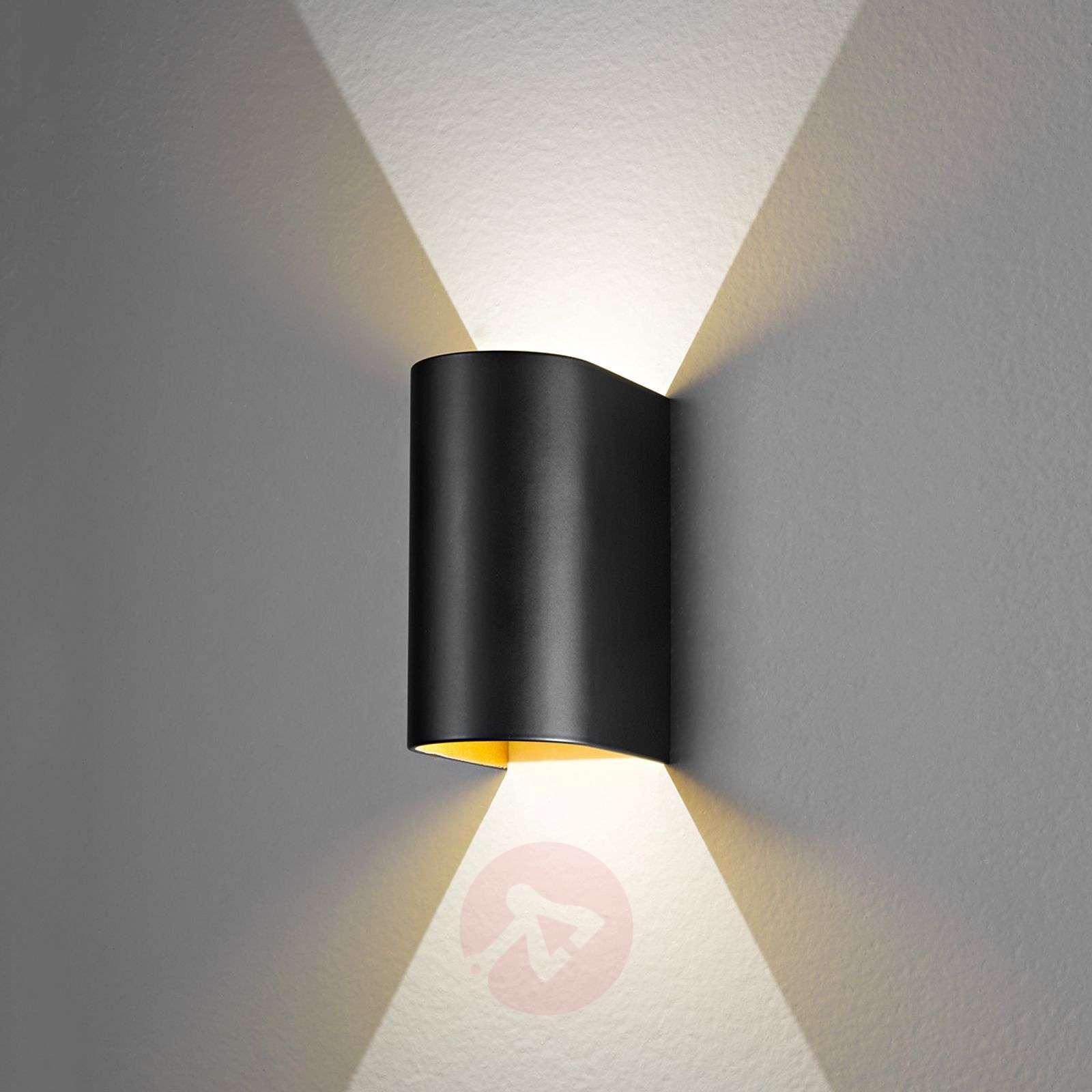 Black-gold Feeling LED wall light-3023089-01