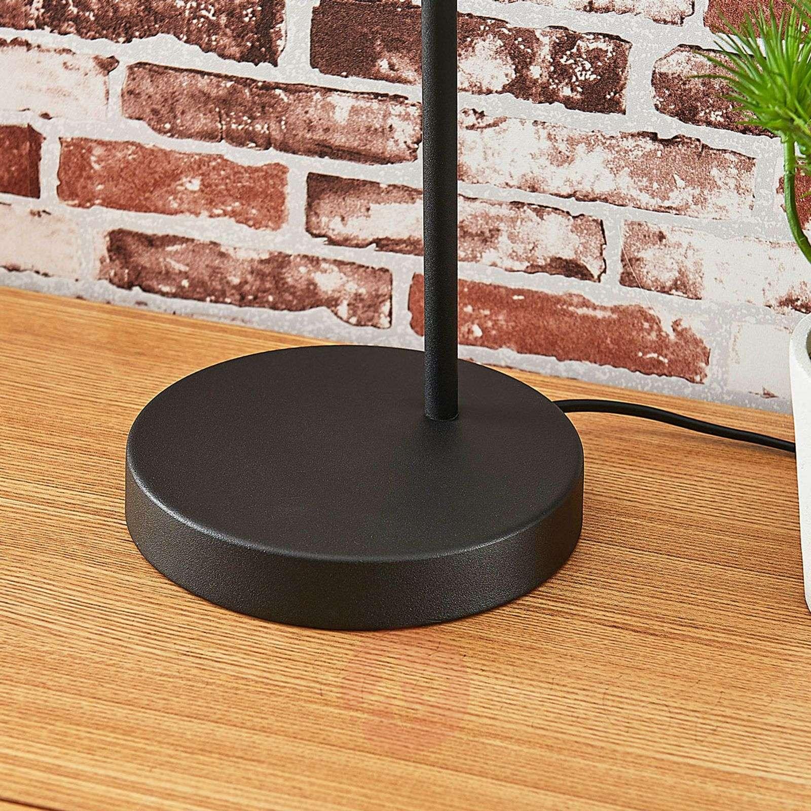 Black-gold metal table lamp Morik-9624014-02