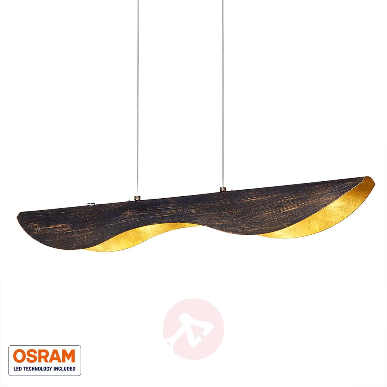 Black-gold Montreal LED-pendant light-9005114-02