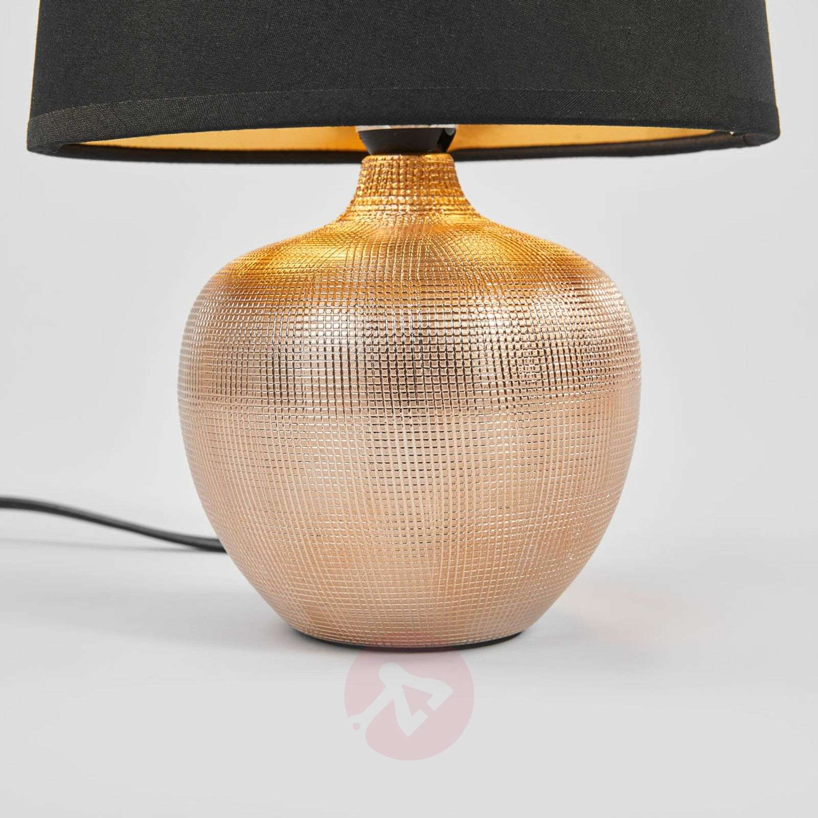Black gold Thorina table lamp-8032095-02