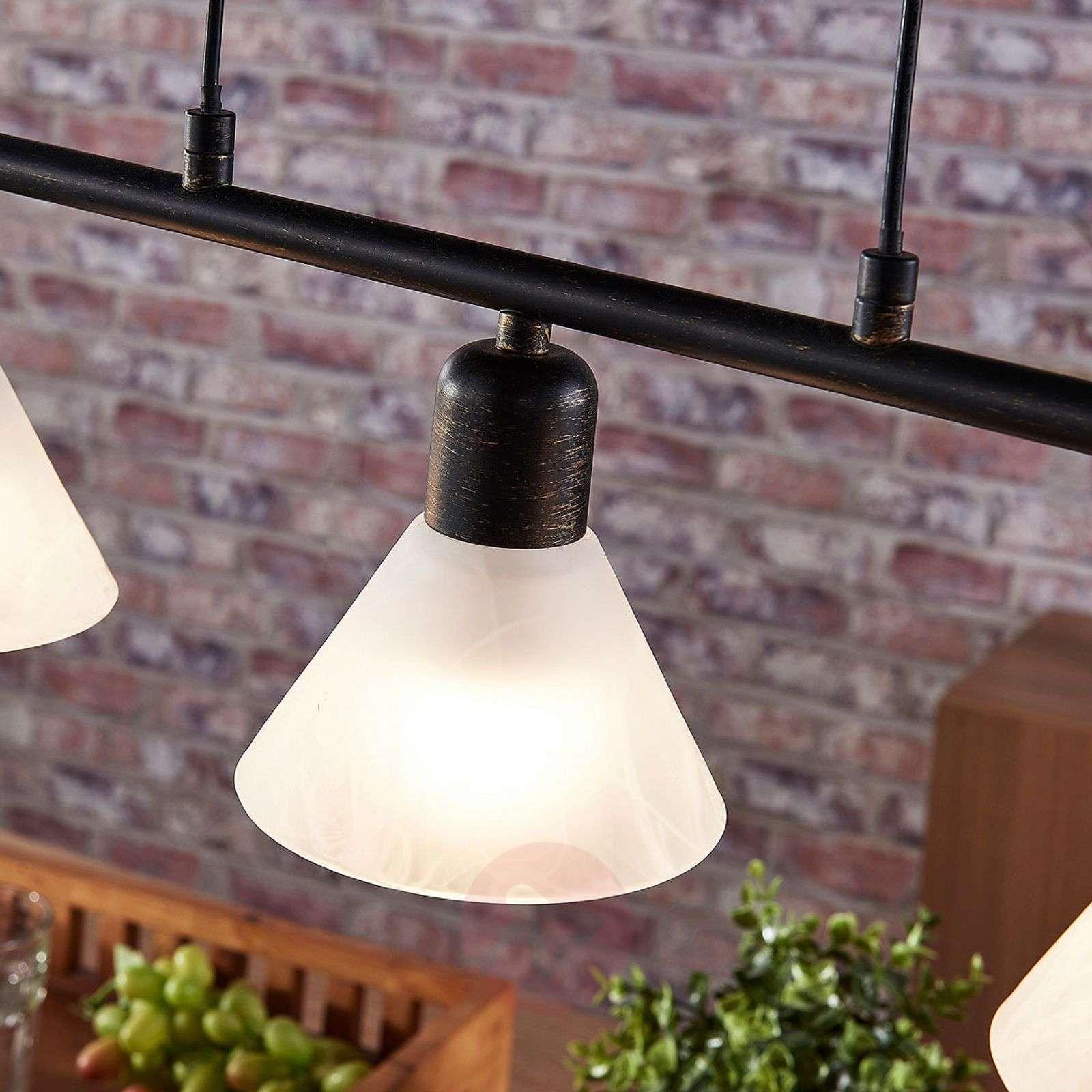Black LED hanging light Eleasa, Easydim-9621383-02