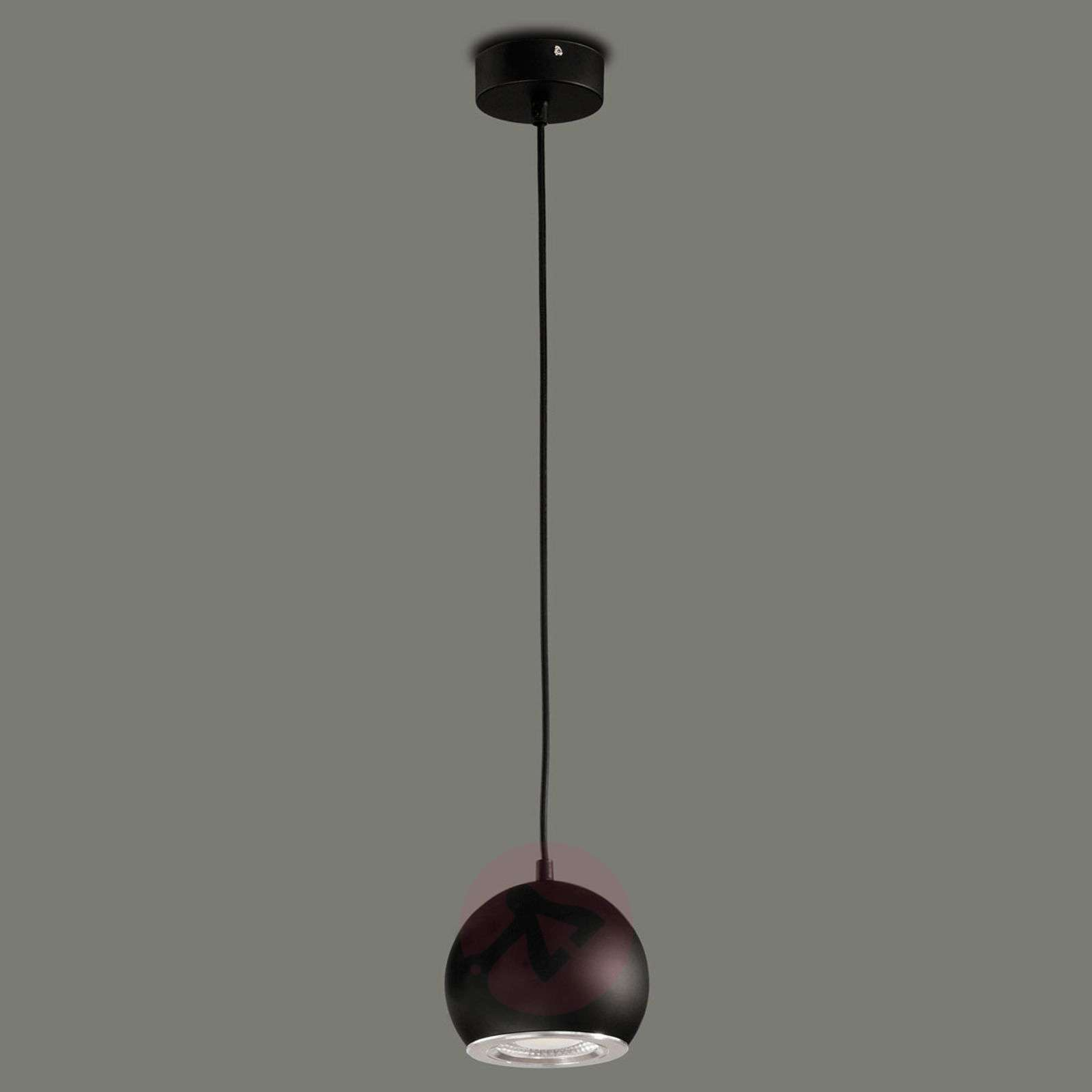 Black LED hanging light Simon-1050096-01
