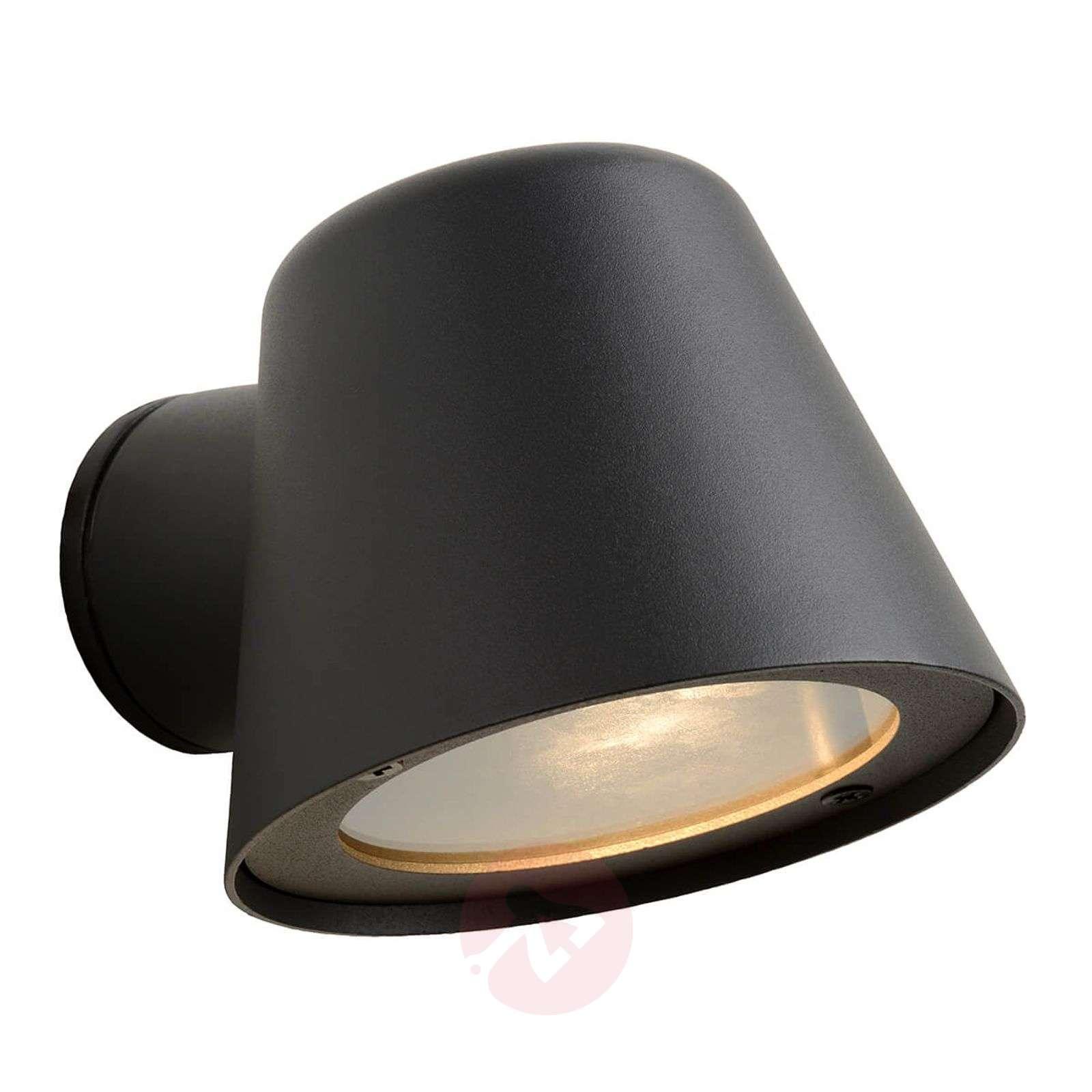 Black LED outdoor wall light Dingo, GU10-6055251-01