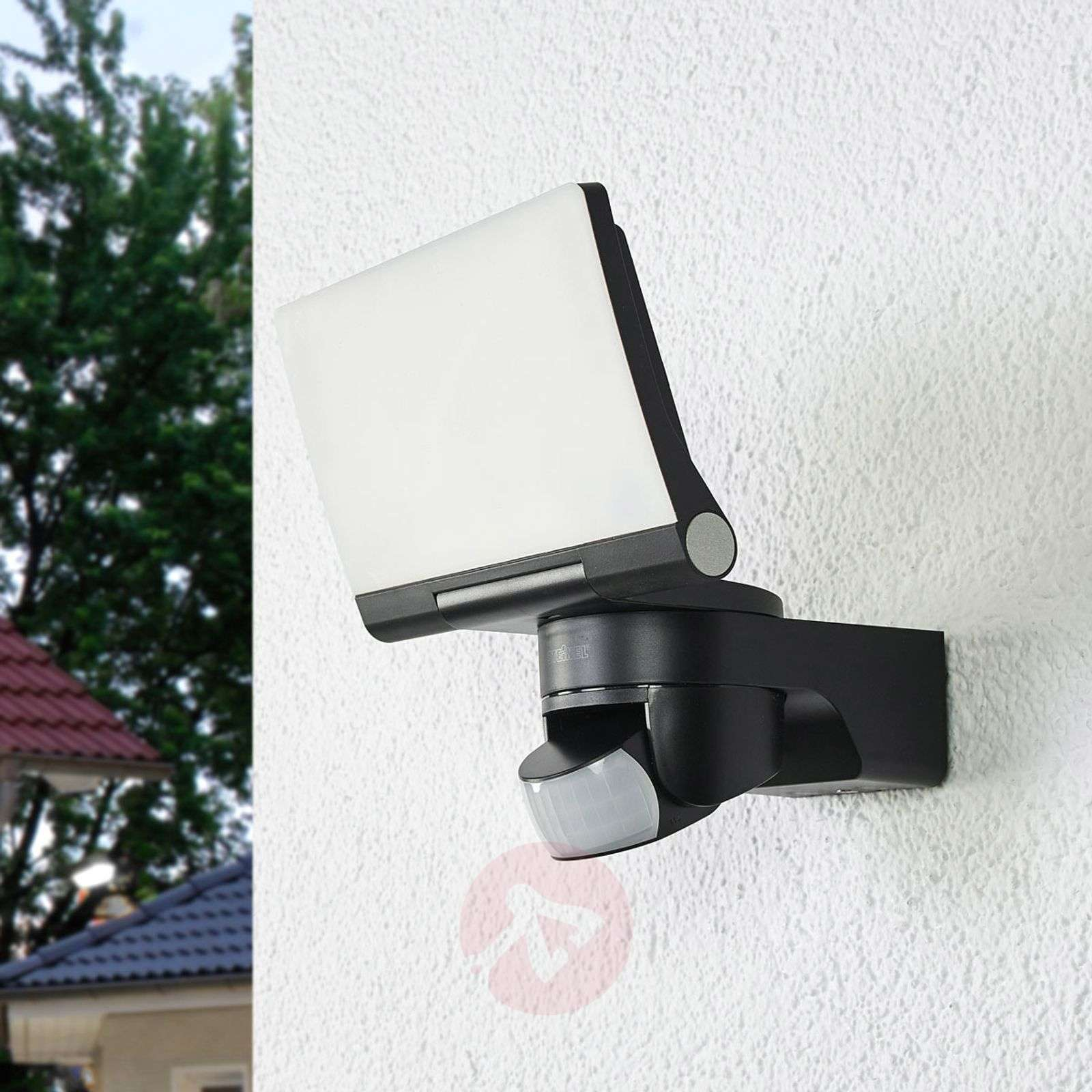 Black LED outdoor wall light XLED Home 2-8505693-01
