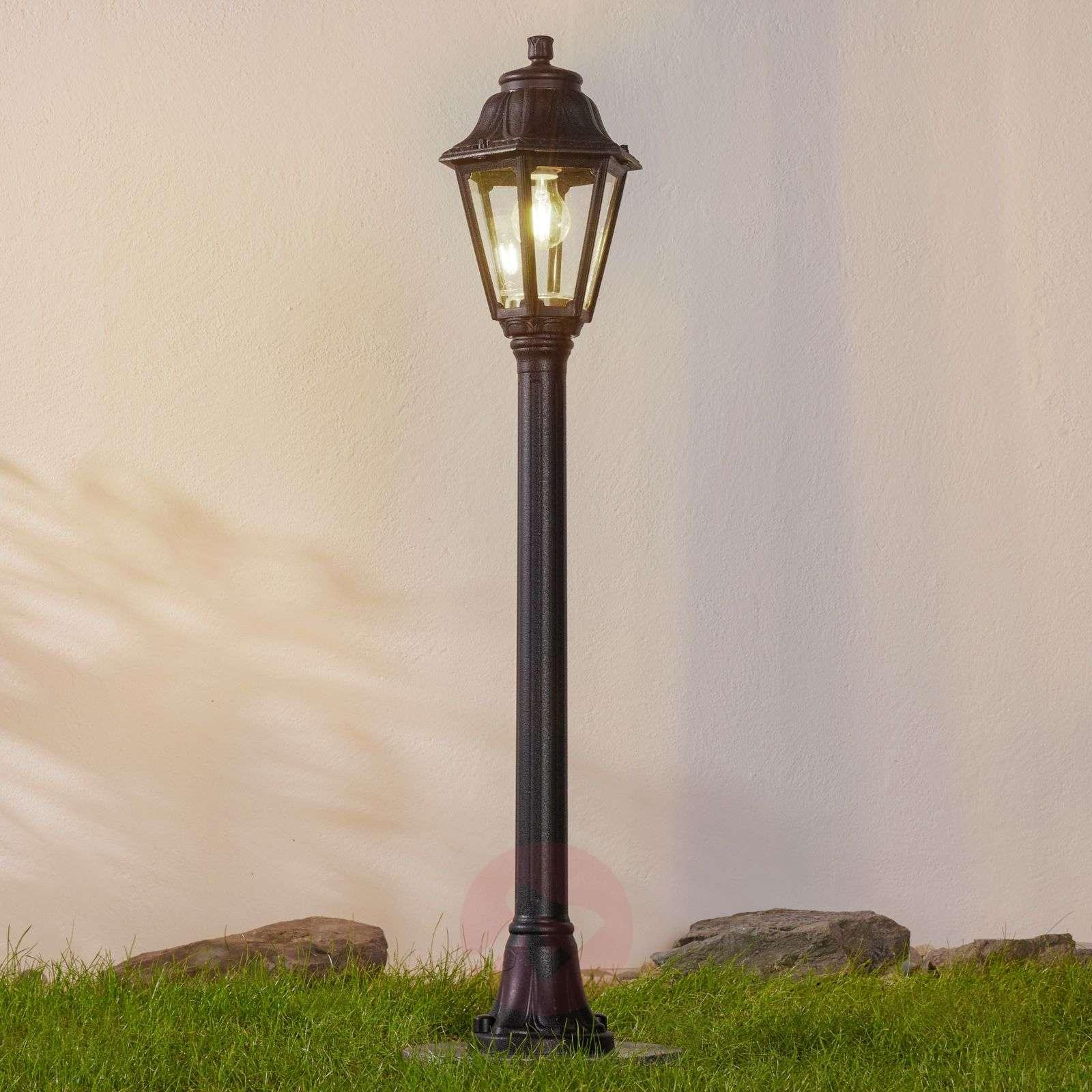 Black LED path light Mizar Anna seawater-resistant-3538067-01