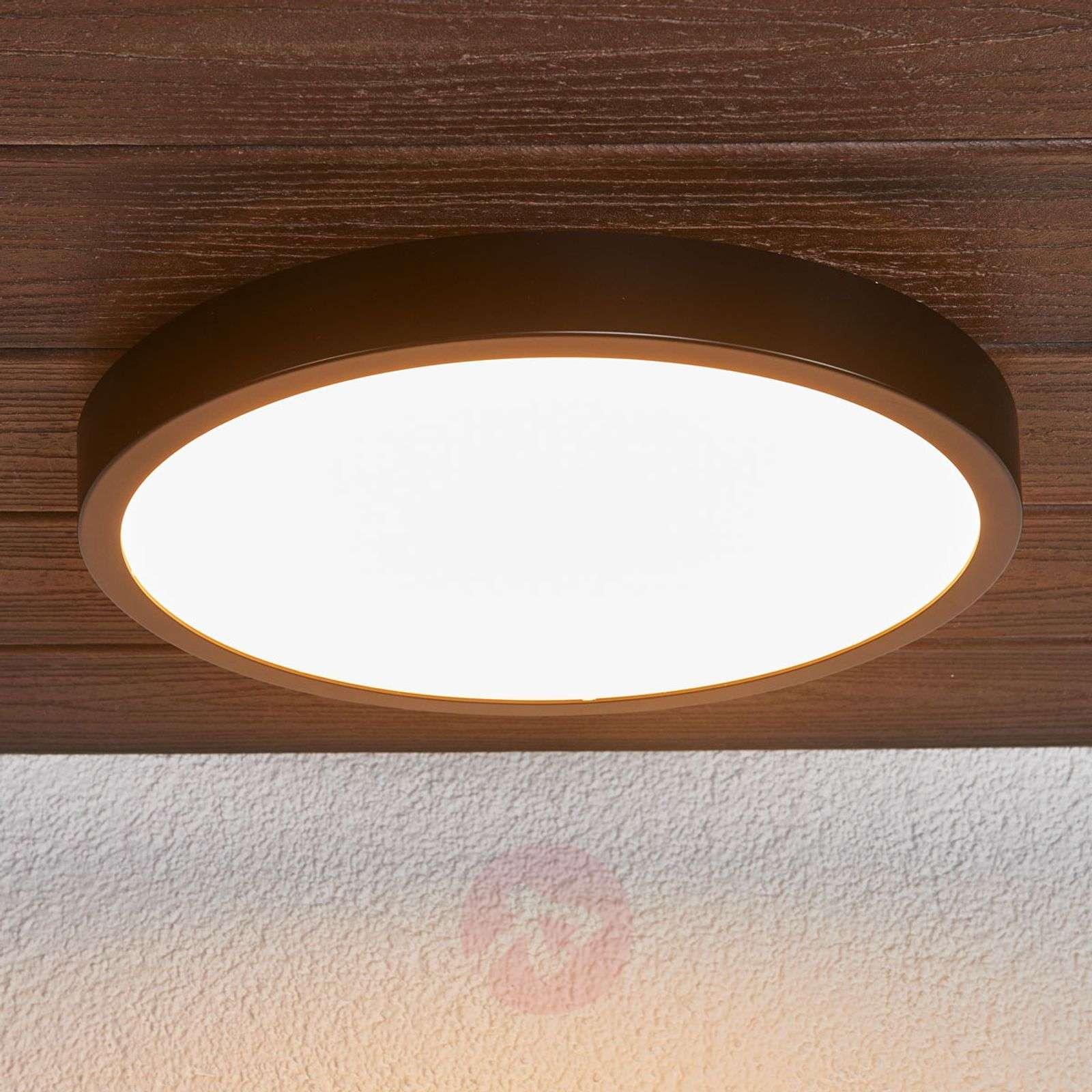 Black Liyan LED ceiling light, IP54-9945195-01